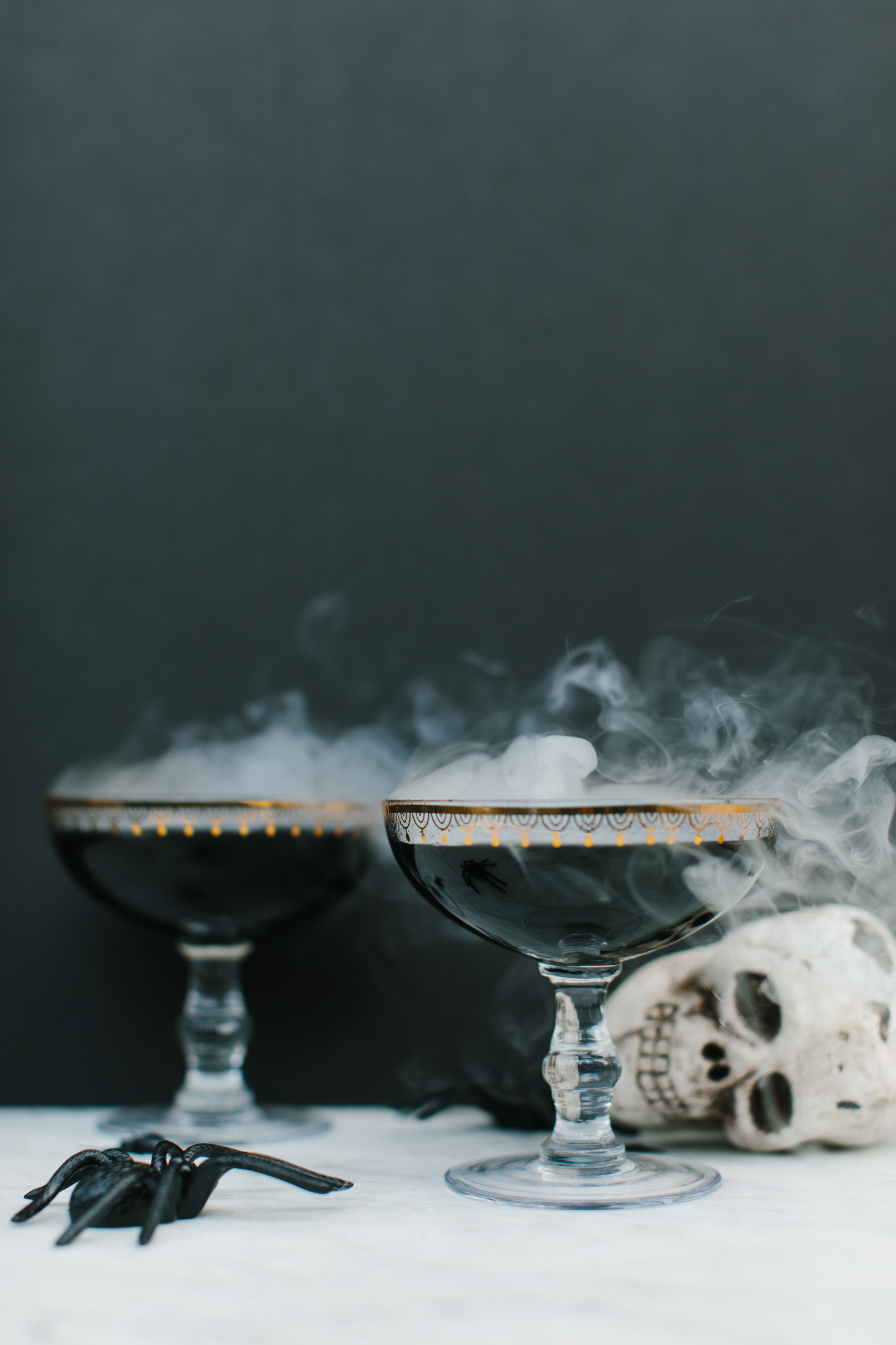 Jillian Harris Black Widow Cocktail Halloween