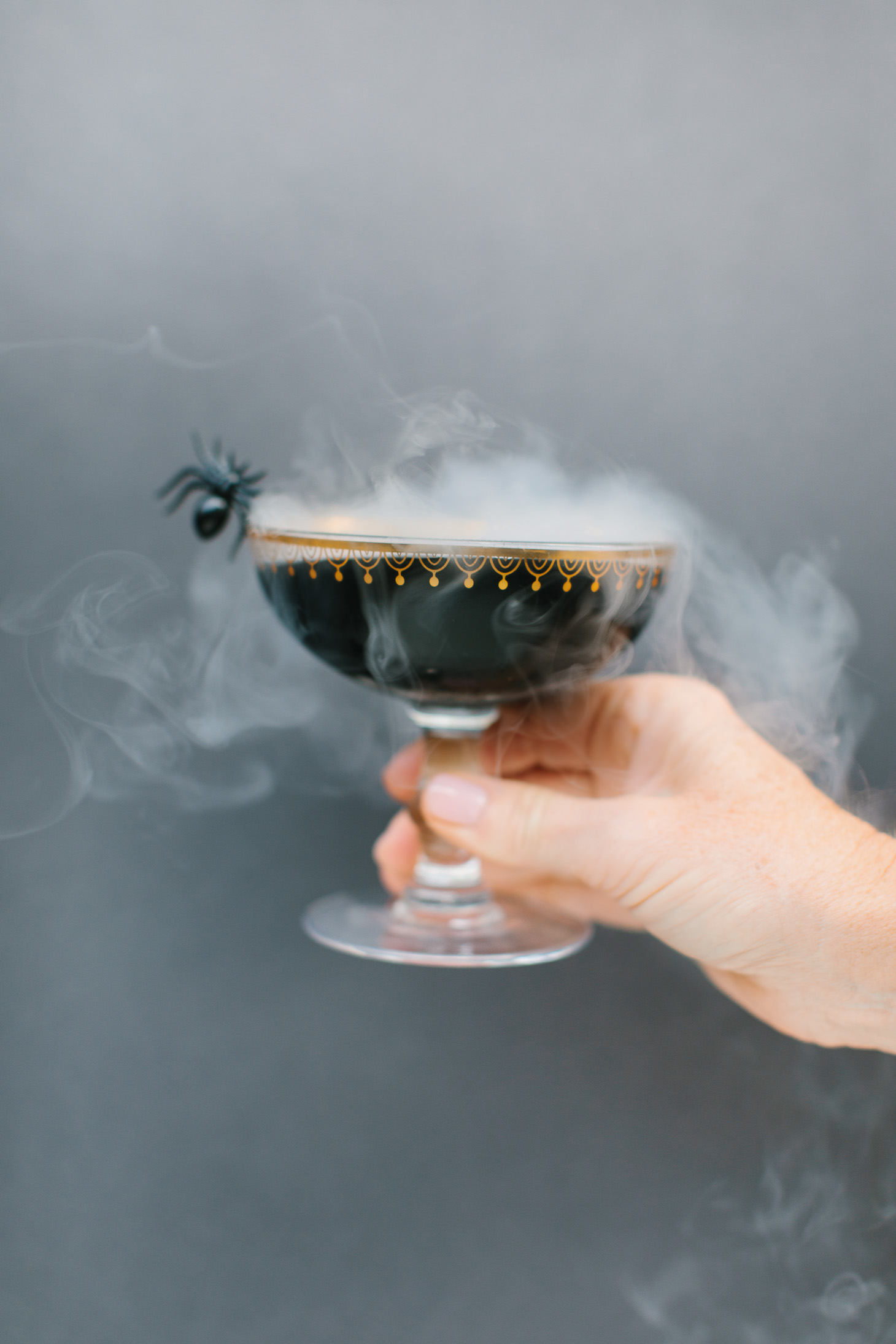 Jillian Harris Black Widow Cocktail Halloween