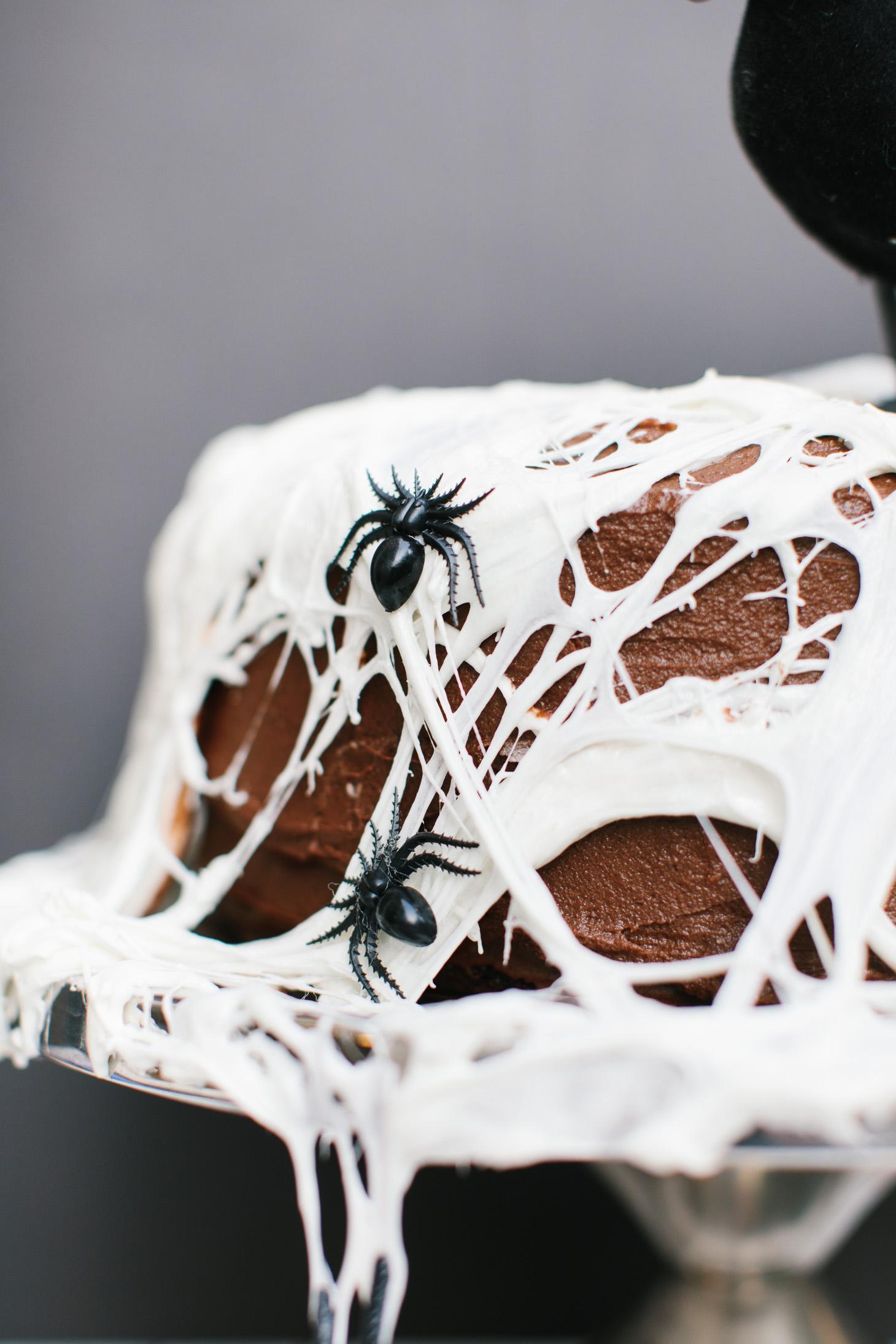 Jillian Harris Halloween Cake