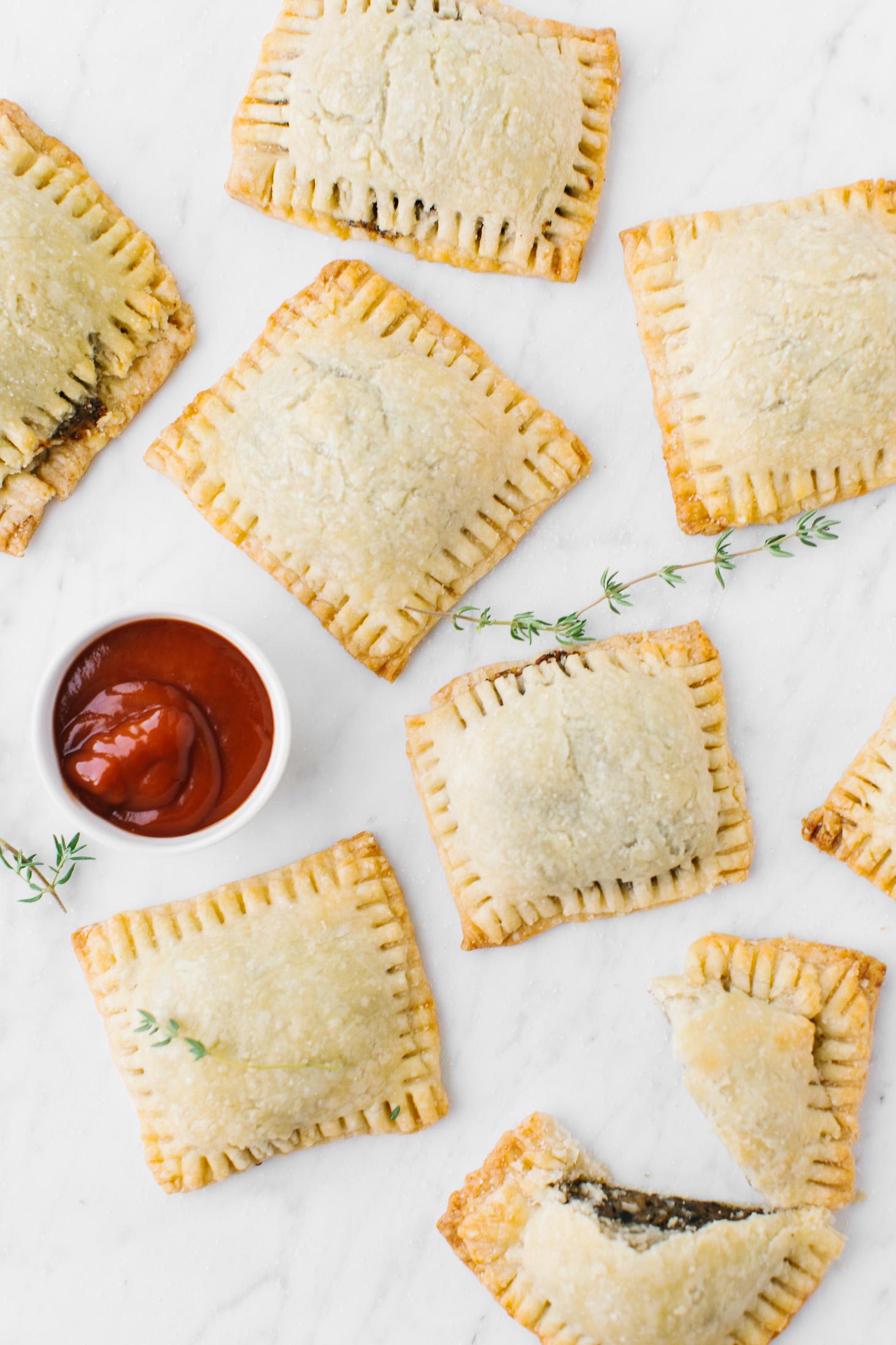 Jillian Harris Vegan Sausage Handpies