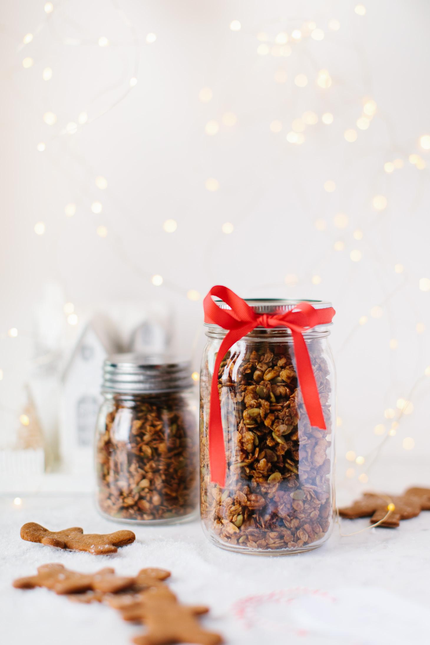 Jillian Harris Bulk Barn Gingerbread Granola-2