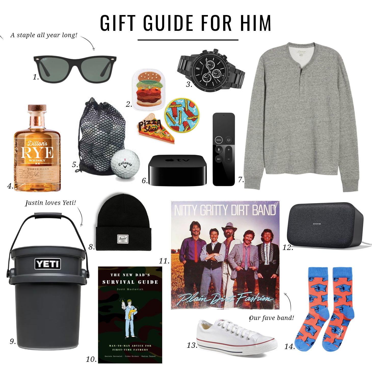 Jillian Harris Gift Guide for Him