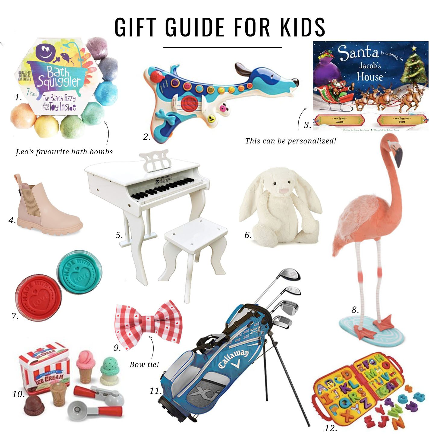 Jillian Harris Gift Guide for Kids