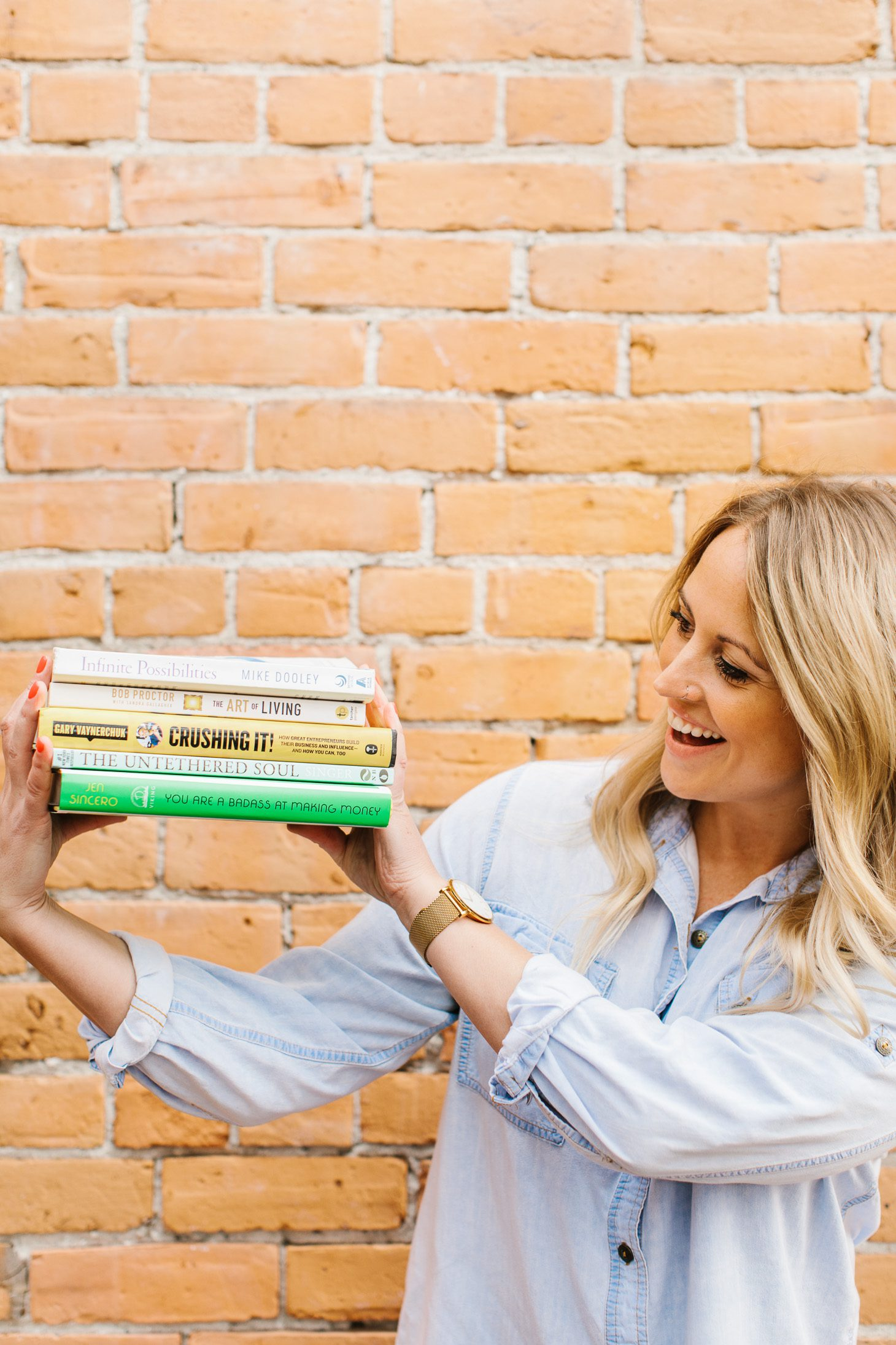 Jillian Harris Top 5 Books for Personal Growth