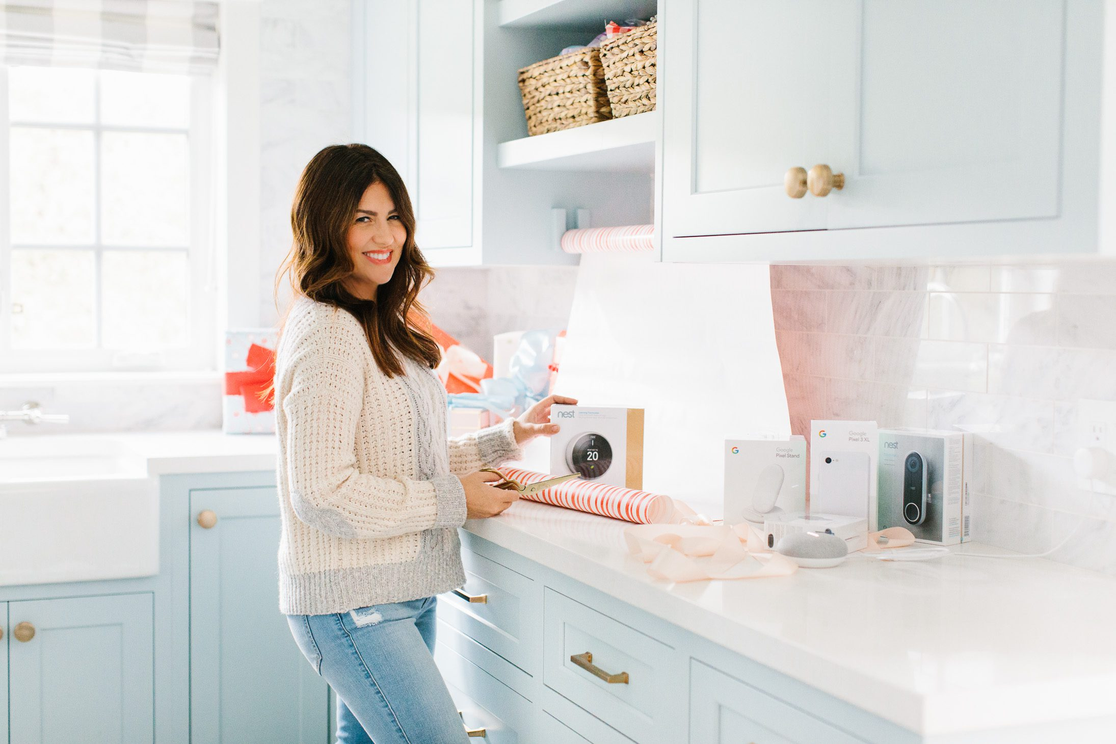 Jillian Harris Google Home Holidays