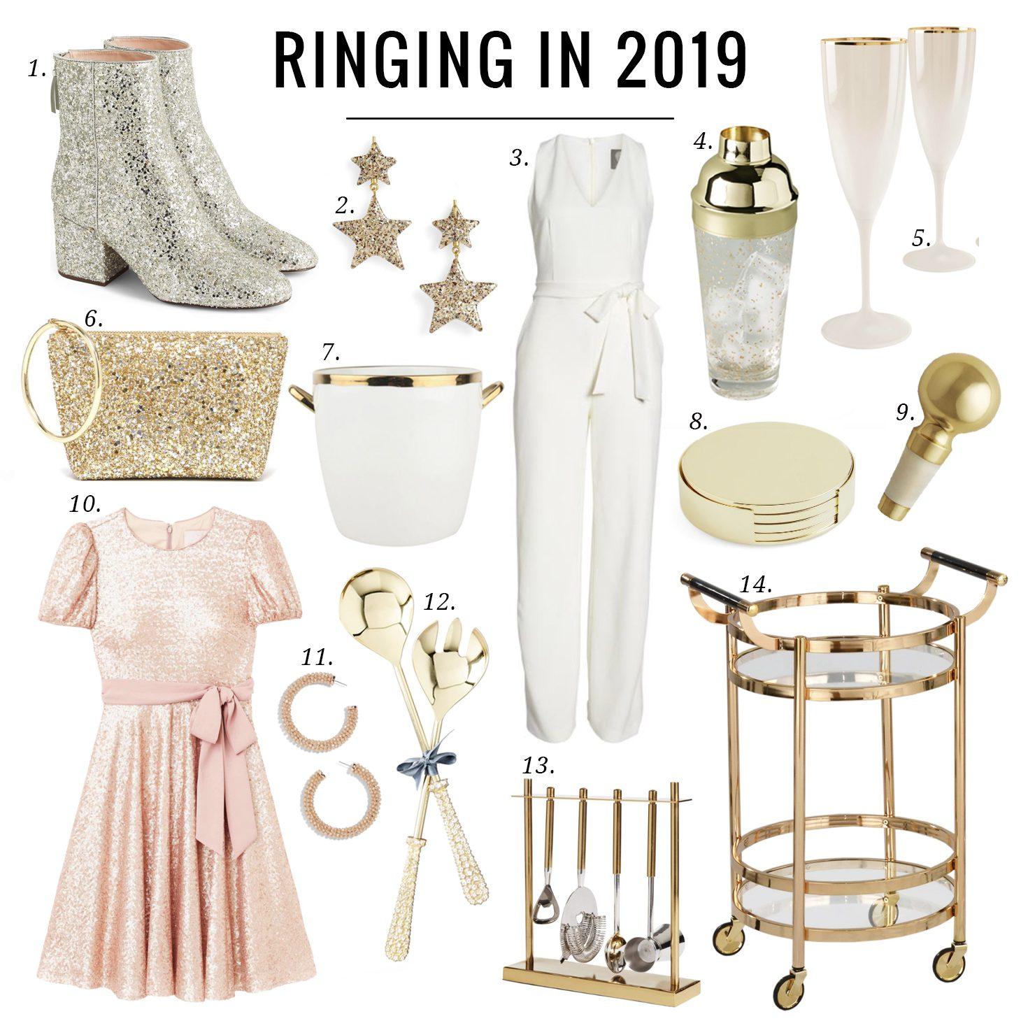Jillian Harris Ring in the New Year in Style