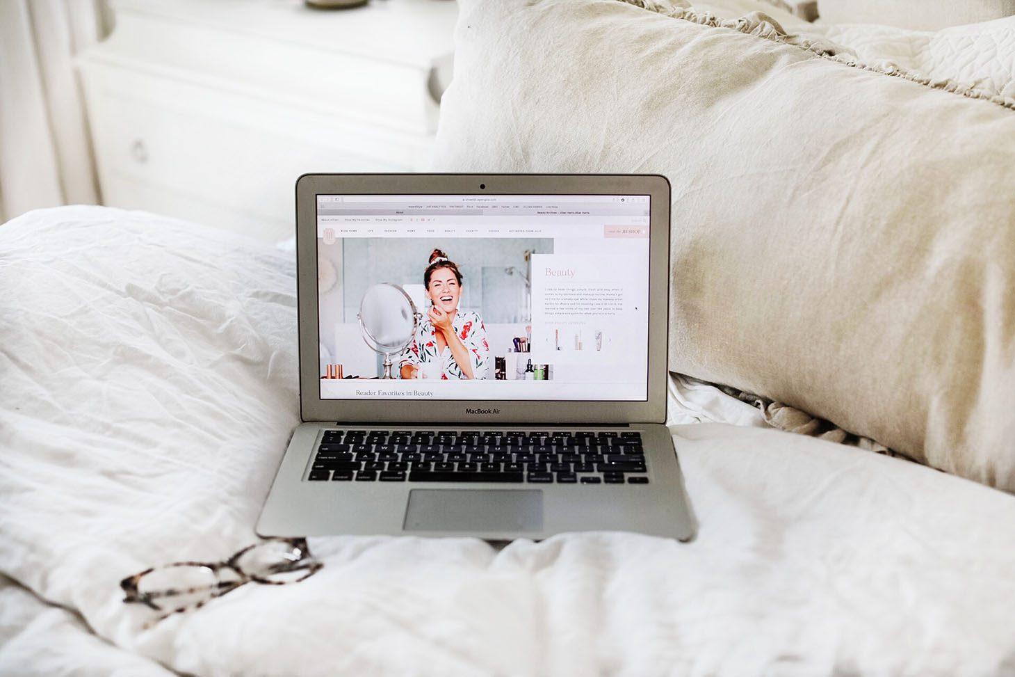 Jillian Harris New Website Launch