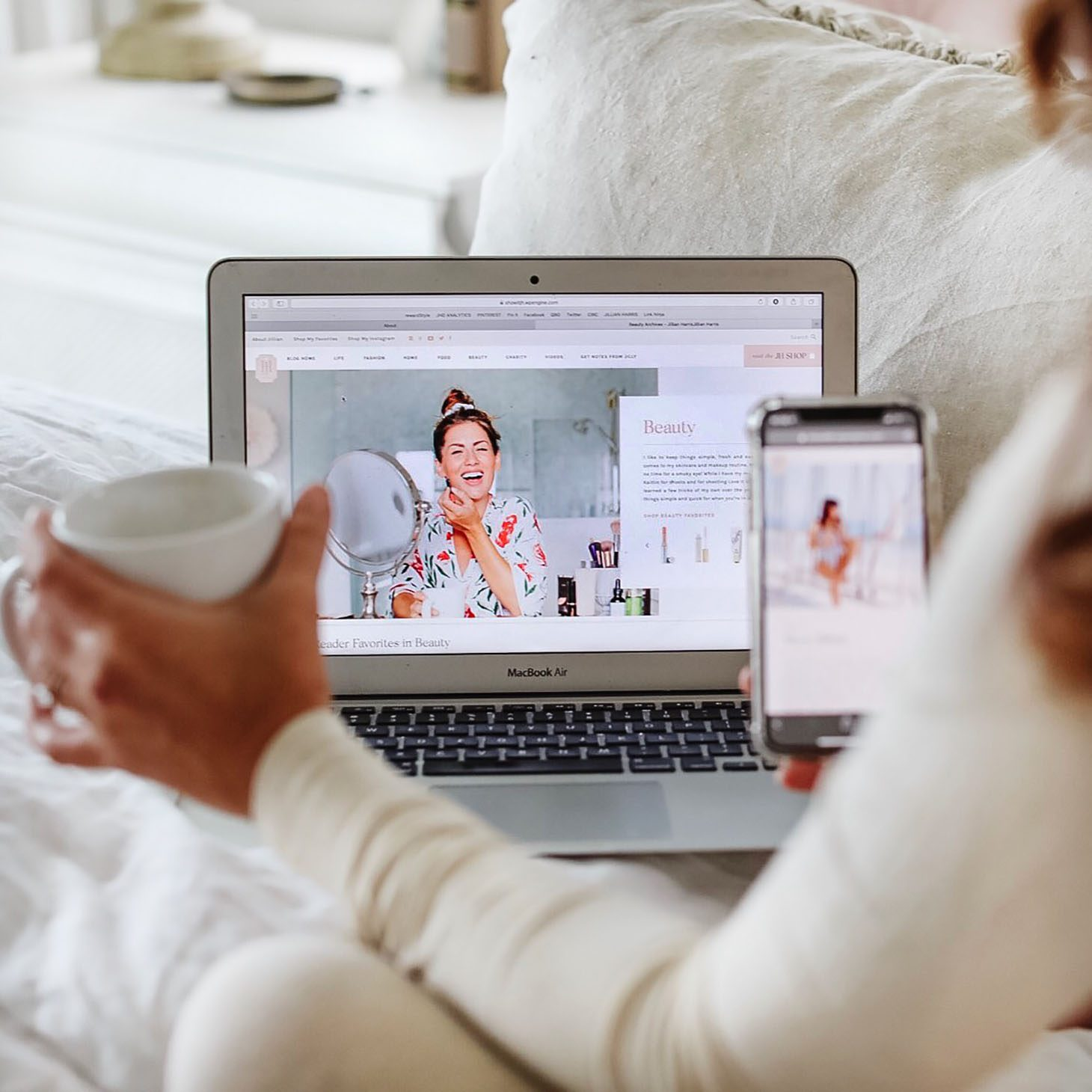 Jillian Harris New Website Launch
