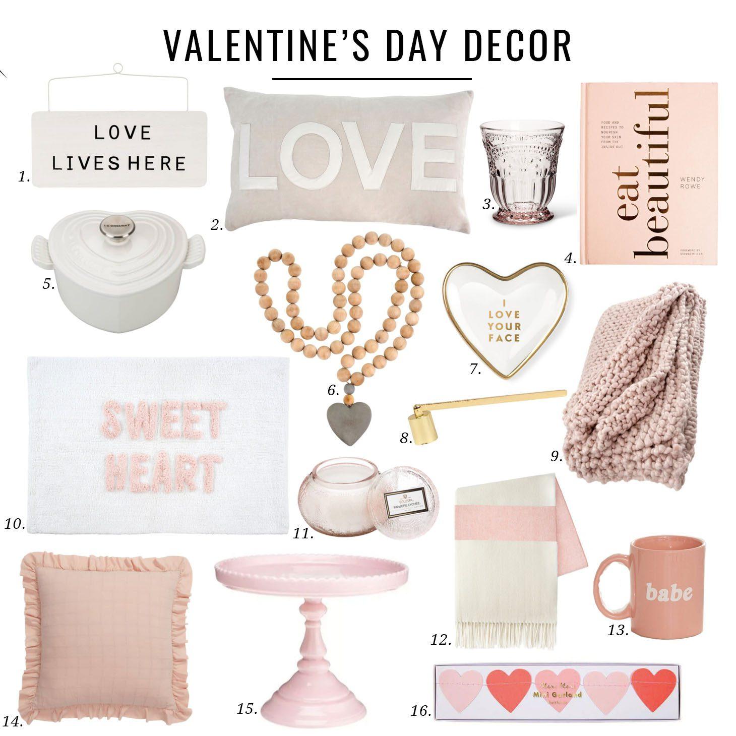 Jillian Harris Valentines Day Decor