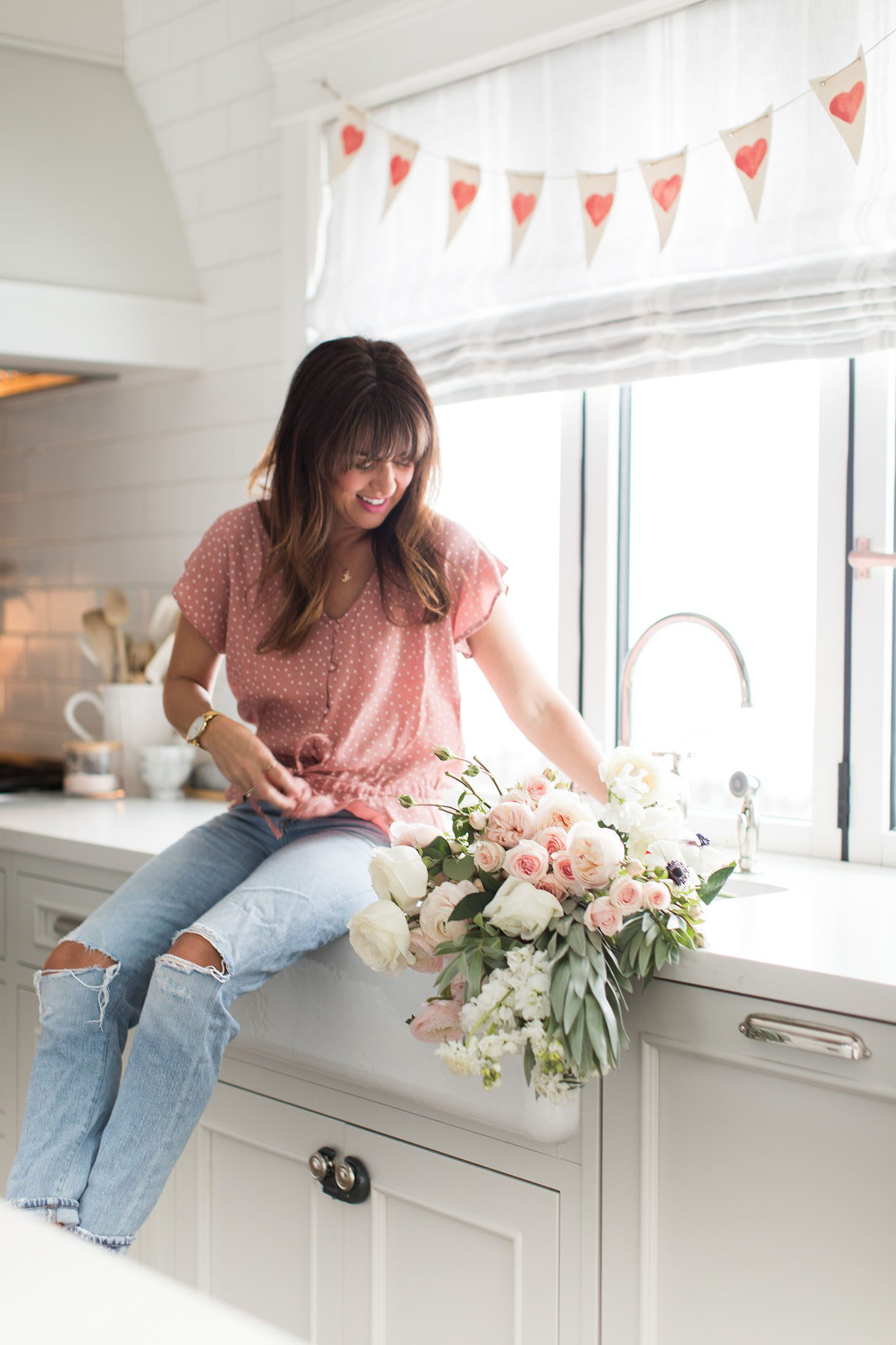 Jillian Harris Valentines Day DIY