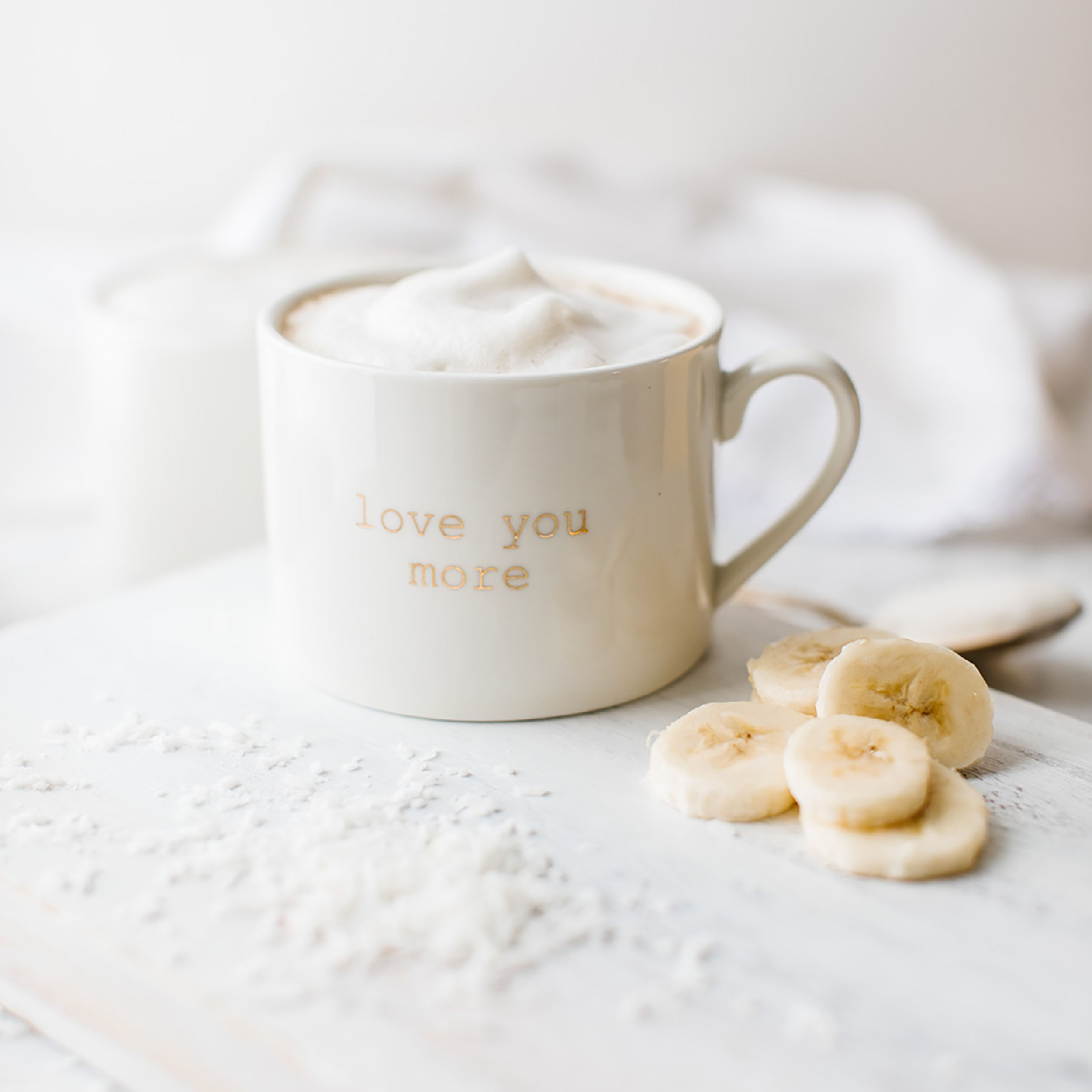 Jillian Harris Banana Coconut Latte