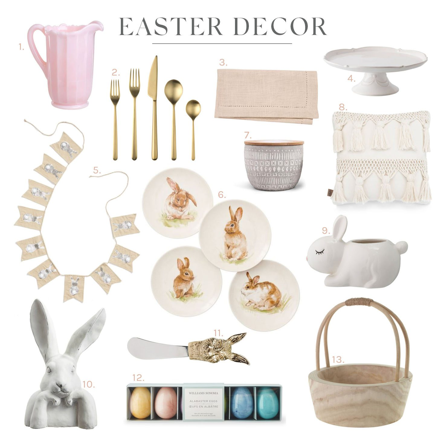Jillian Harris Easter Decor