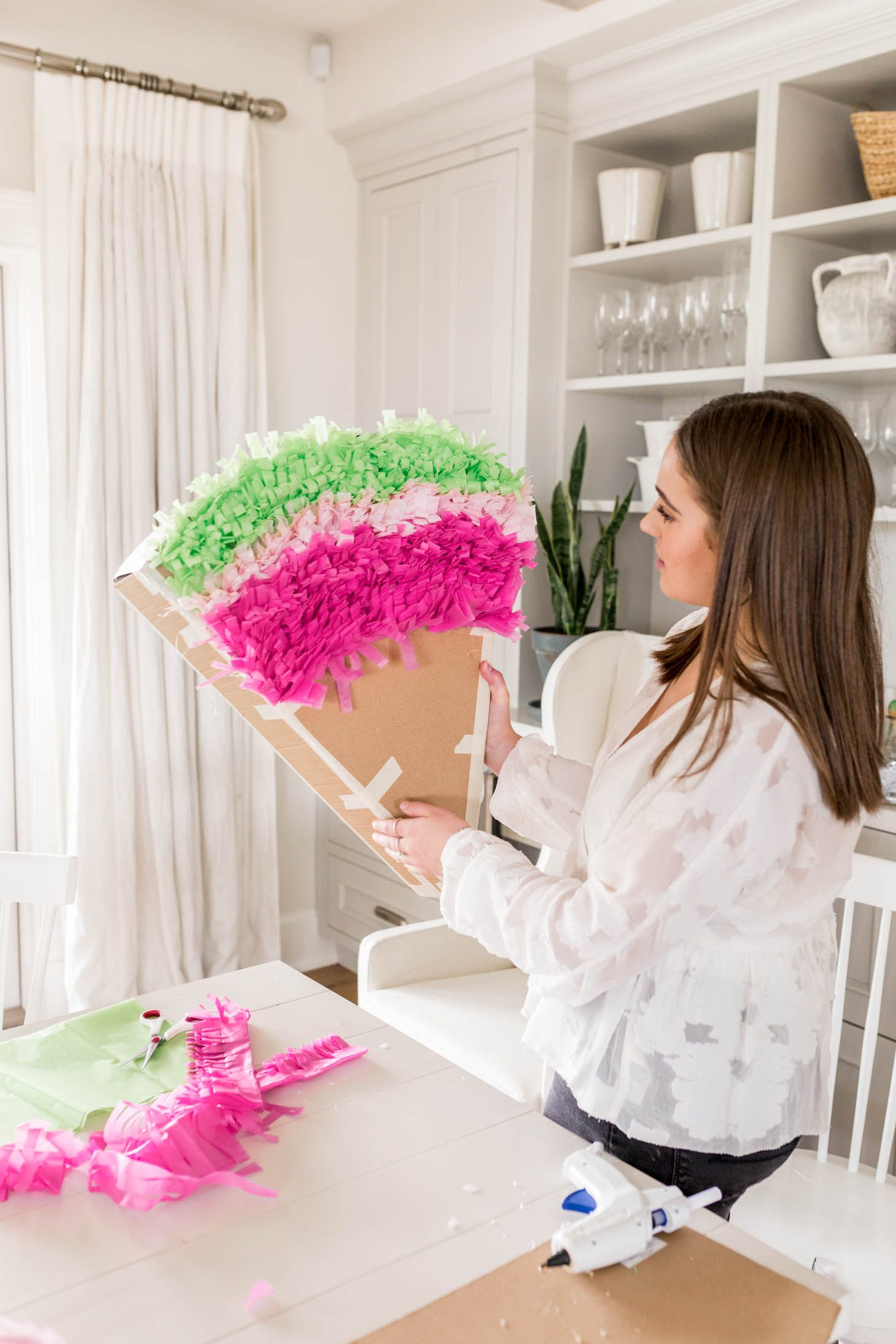 Jillian Harris Cinco De Mayo Watermelon Pinata DIY