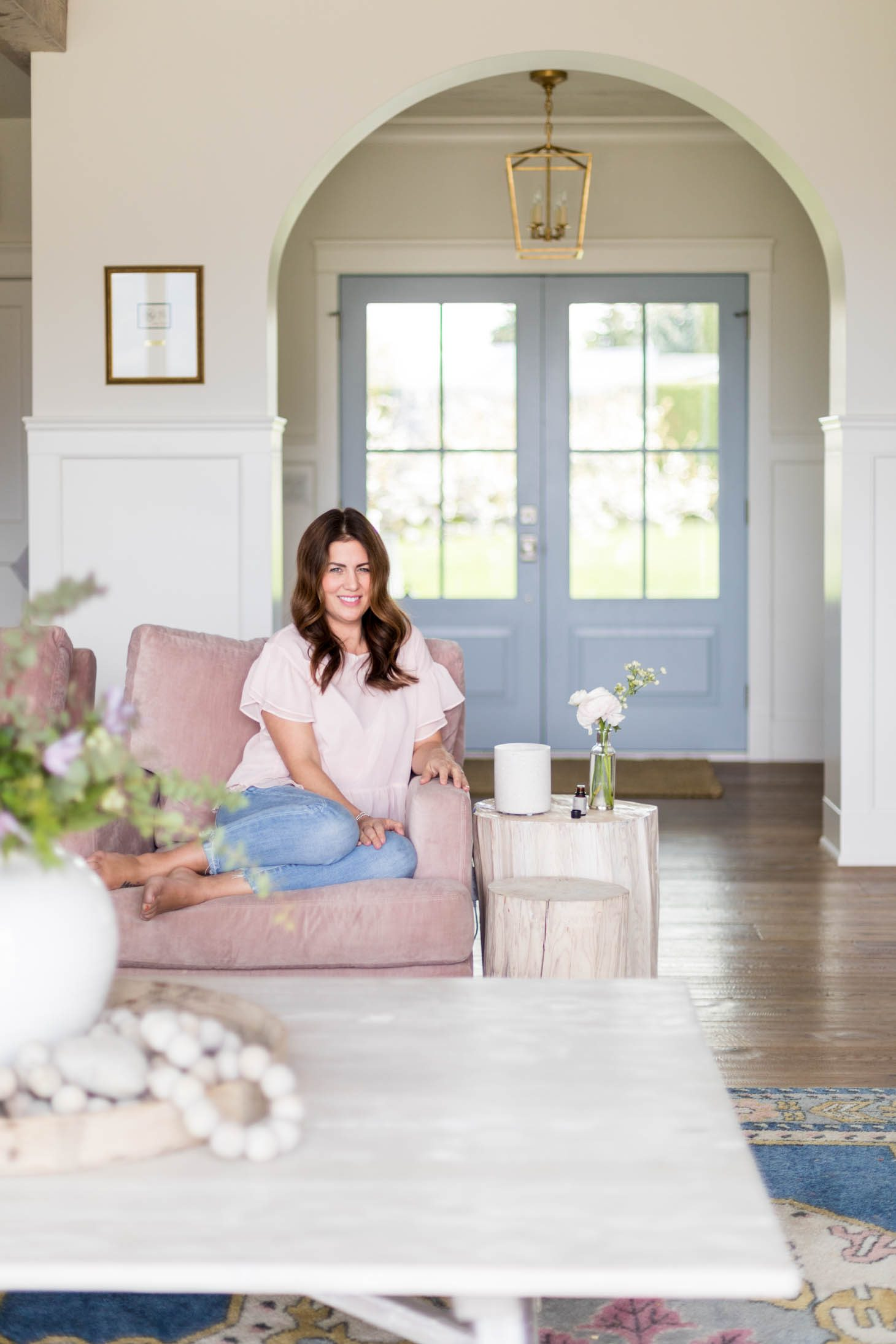 Jillian Harris x Saje Wellness Diffuser Collaboration