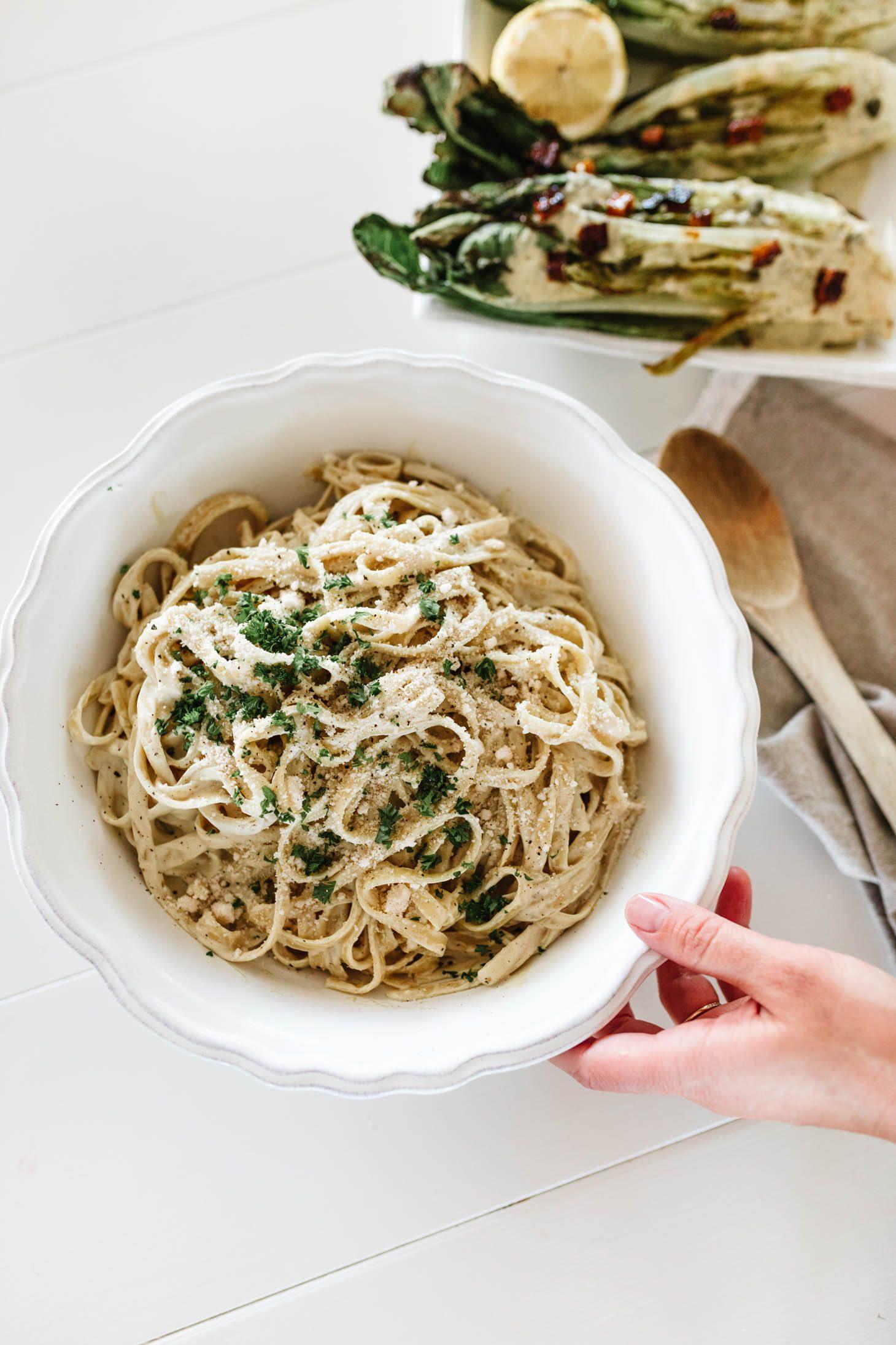 Jillian Harris Cashew Alfredo Pasta Recipe