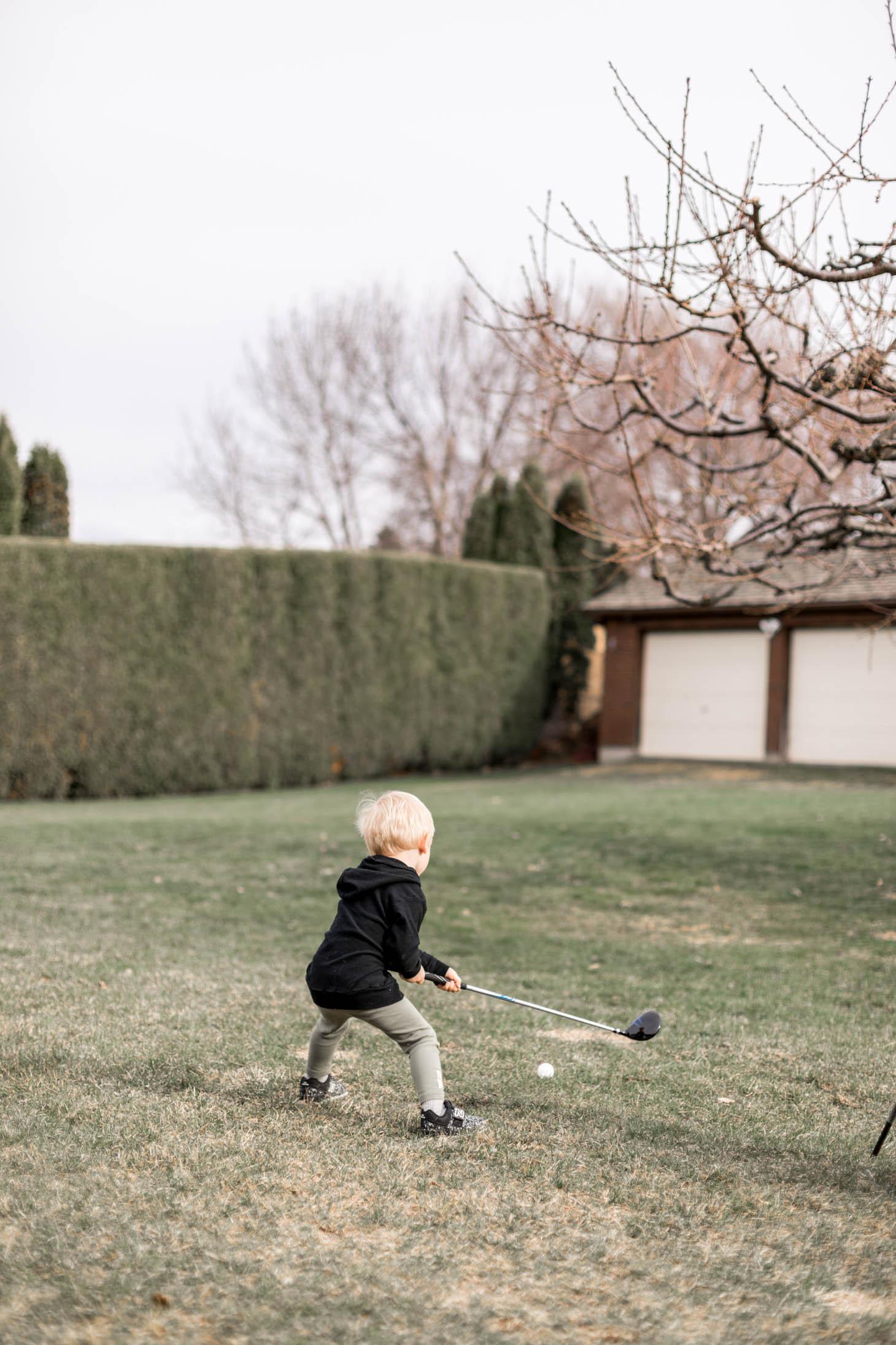 Jillian Harris Leo Takes Up Golf