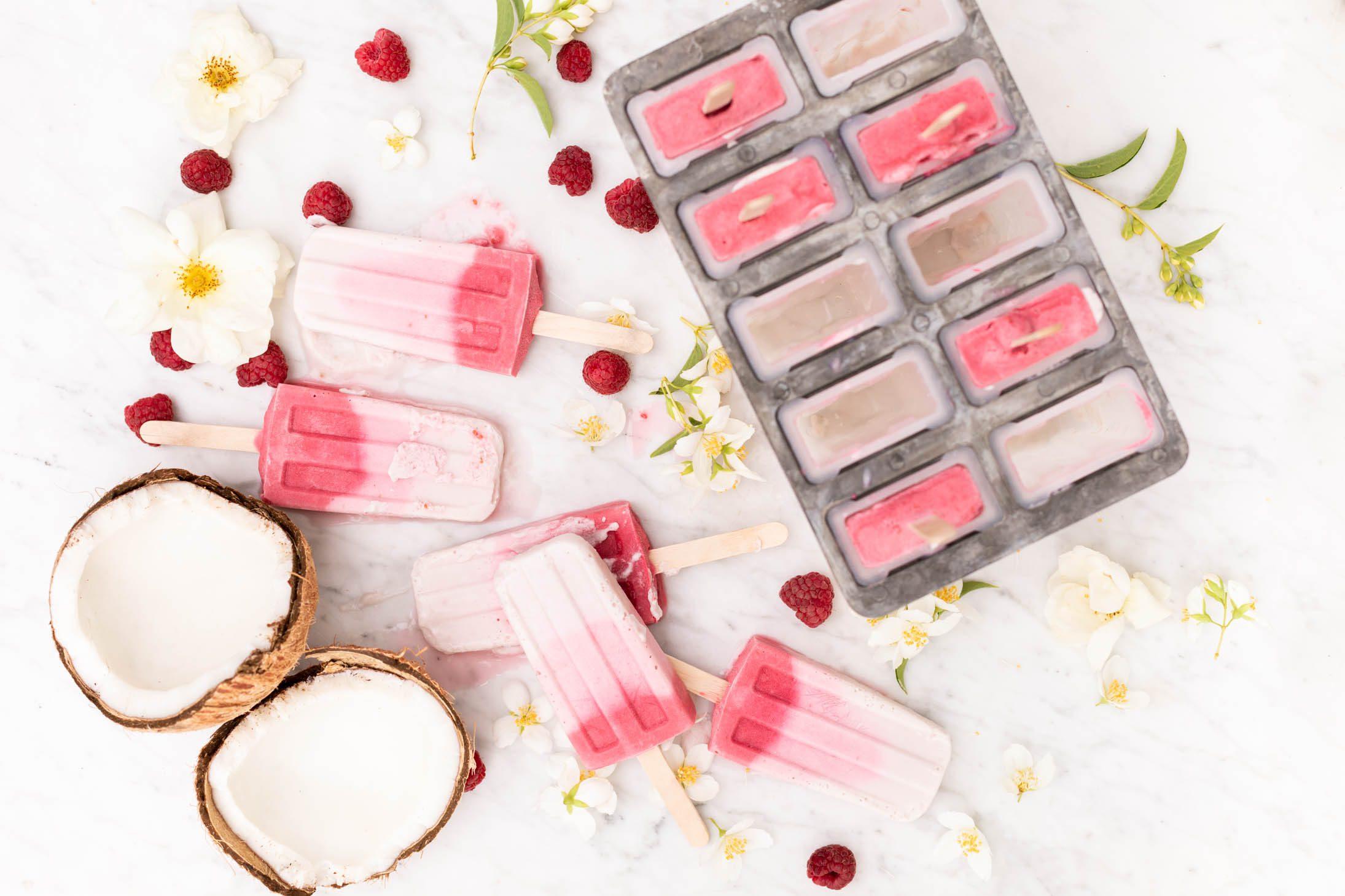 Jillian Harris Raspberry Coconut Creamsicle