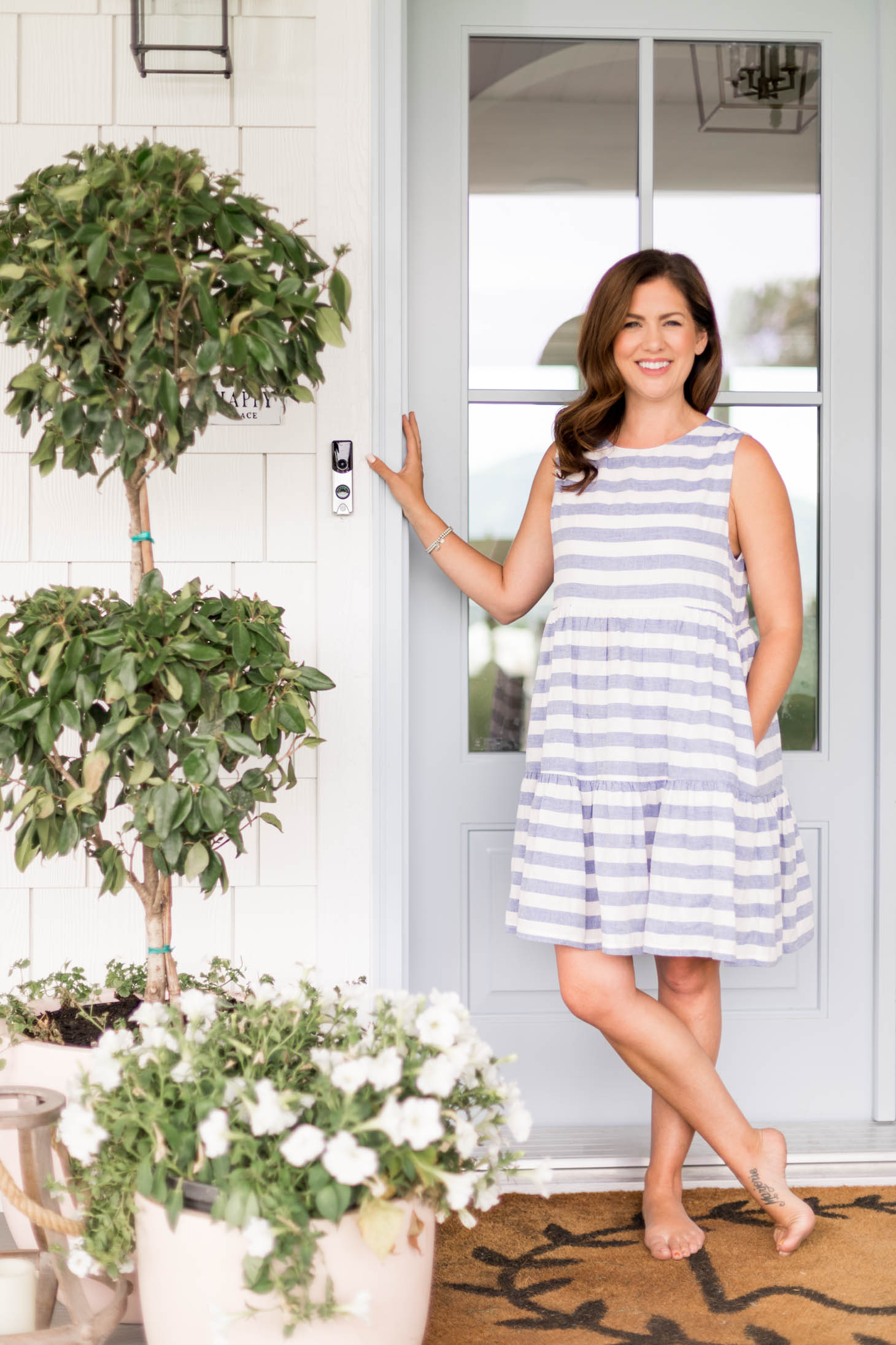 Jillian Harris How We Stay Connected to Our Home