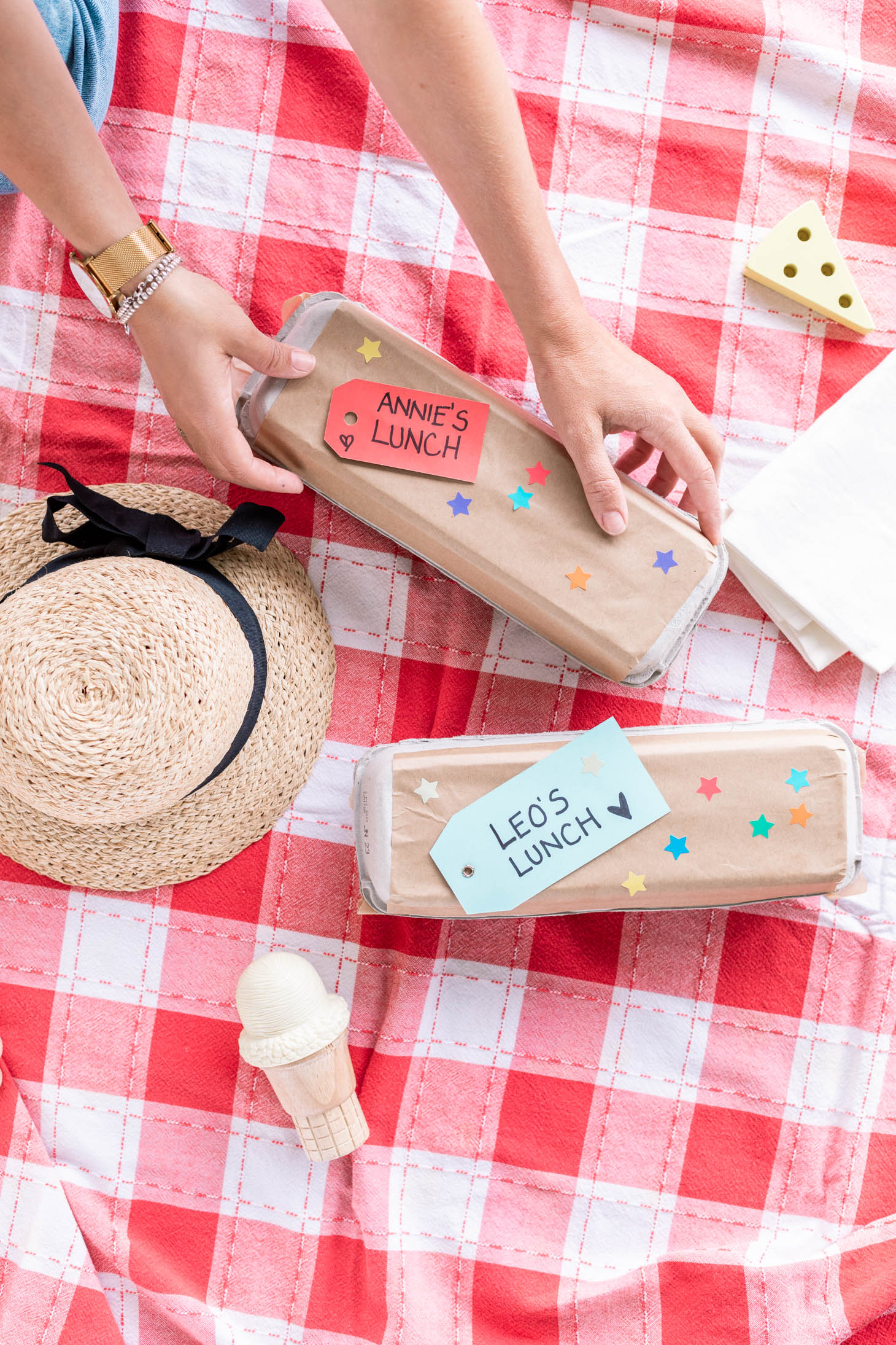 Jillian Harris Egg Carton Picnic