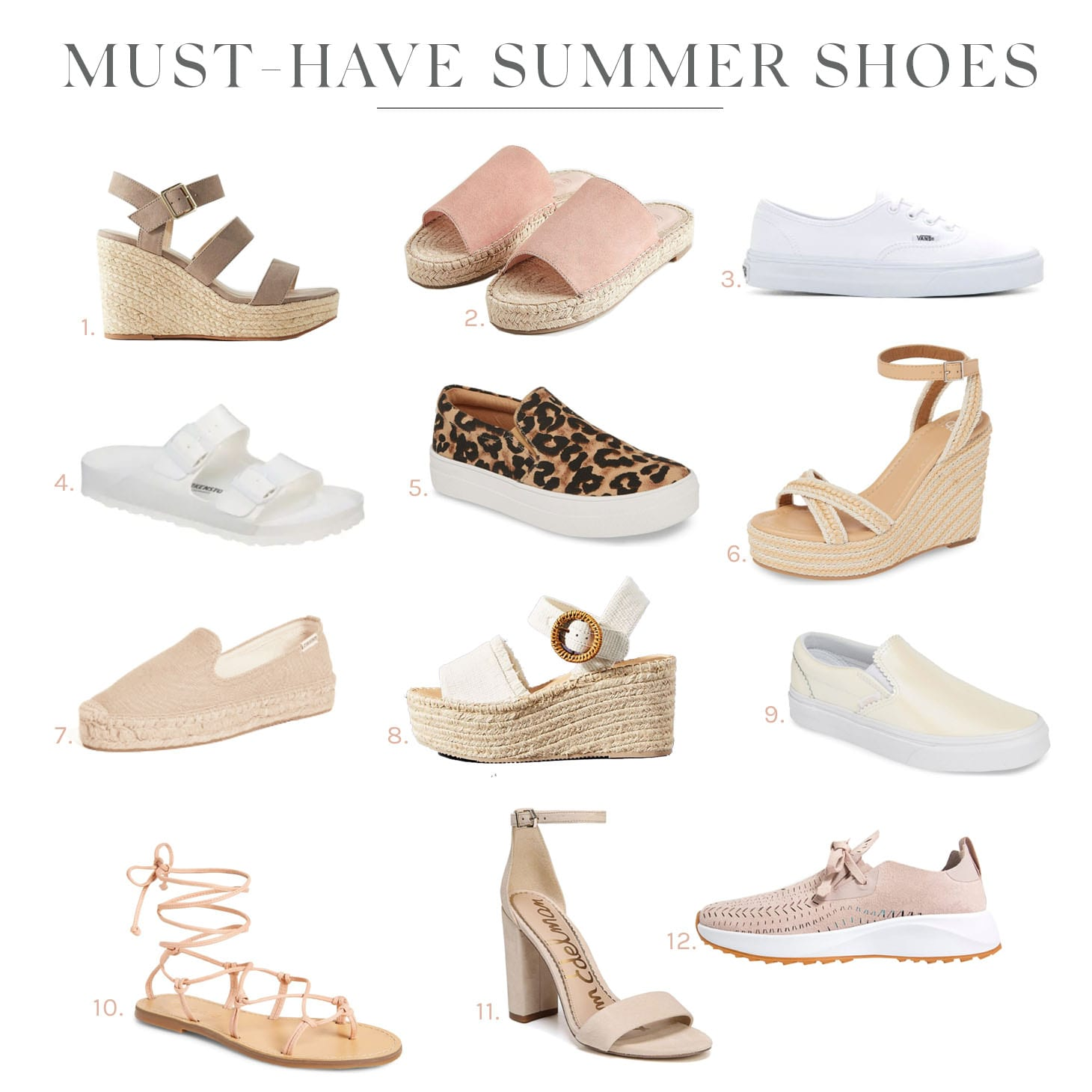 My Favourite Must-Have Summer Shoes