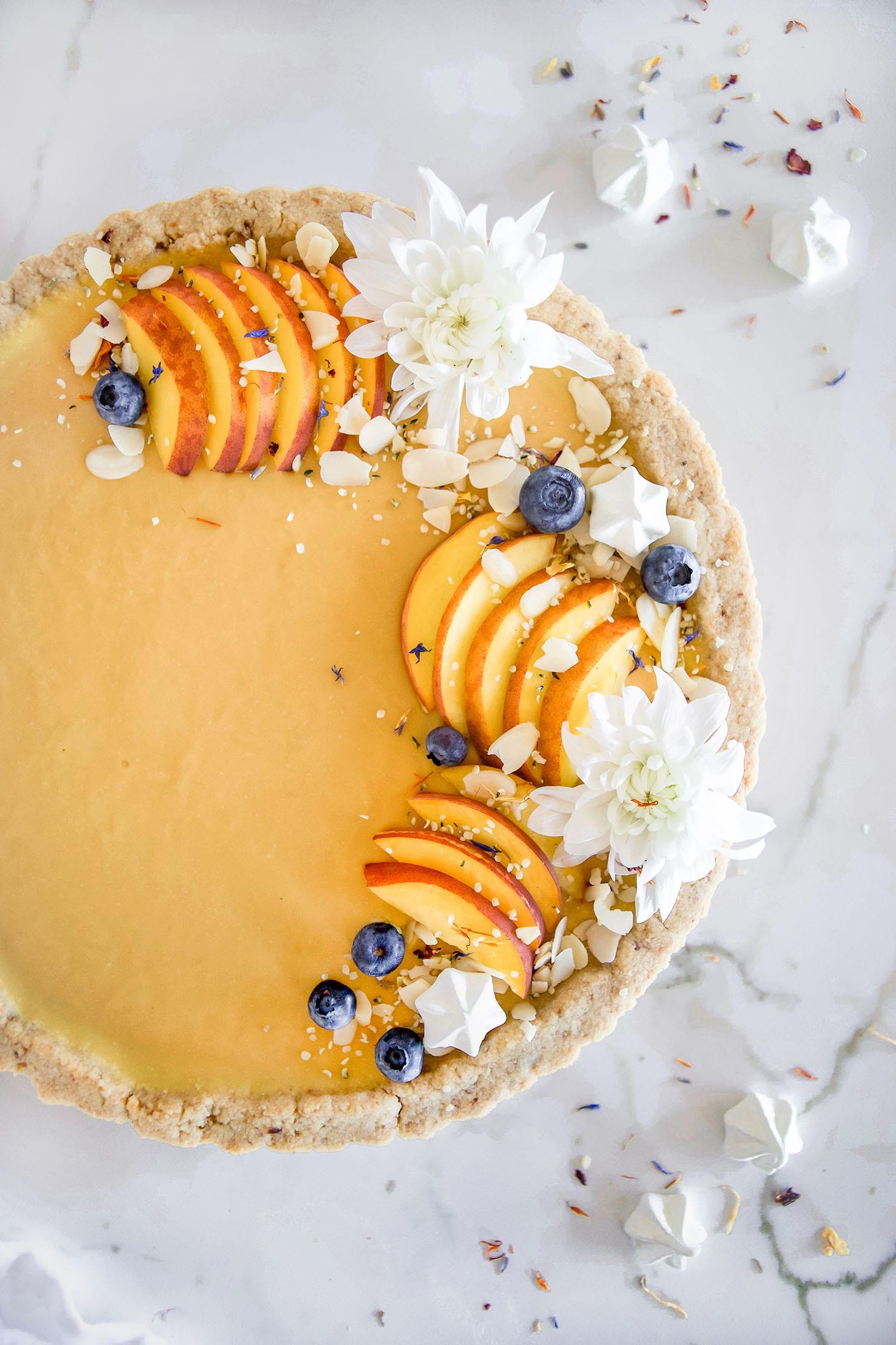 How to Make a Peach Tart