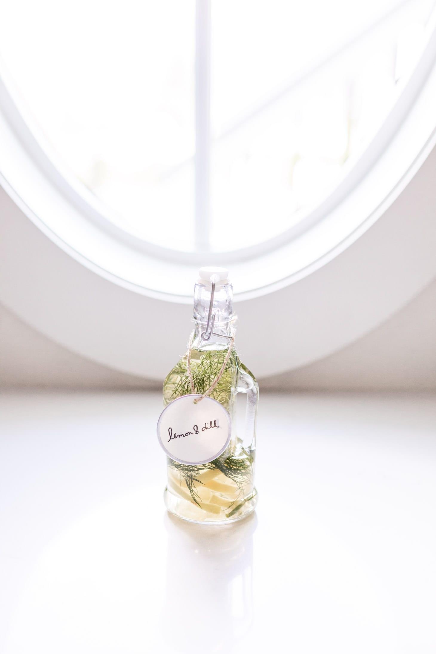 Jillian Harris DIY Herb Oil and Vinegar