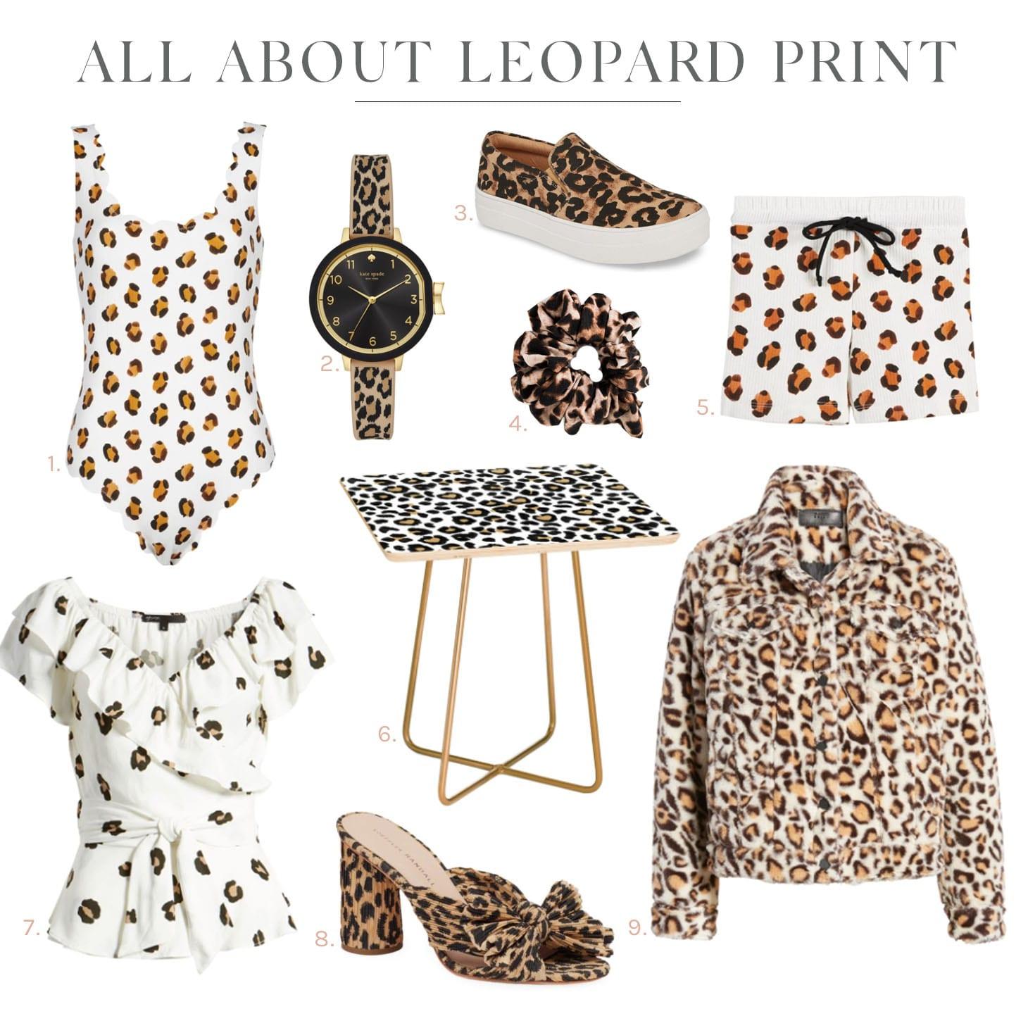 Jillian Harris Leopard Print