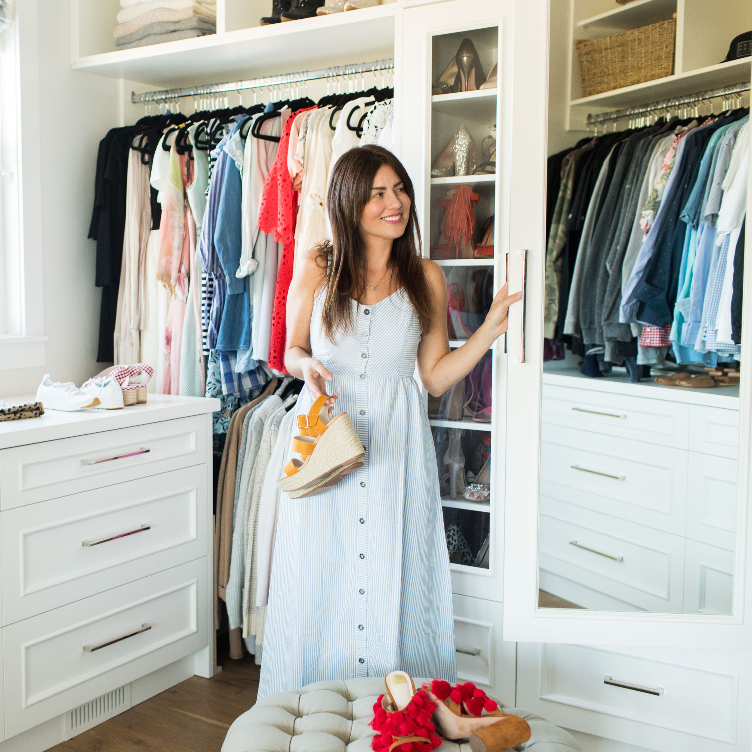 Jillian Harris 3 Fun (And Eco-Friendly!) Ways to Refresh Your Closet This Fall