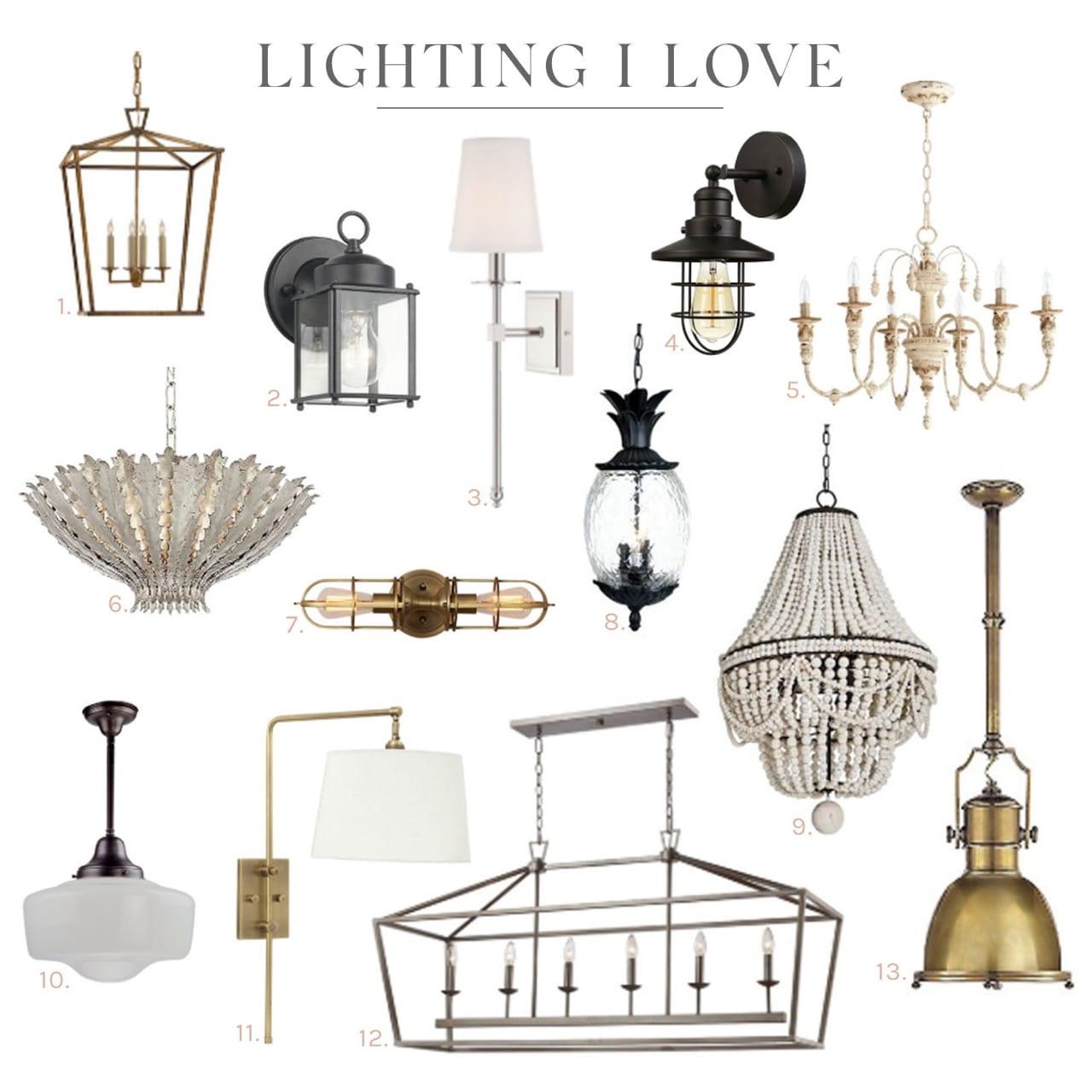 In My Home: Lighting I Love
