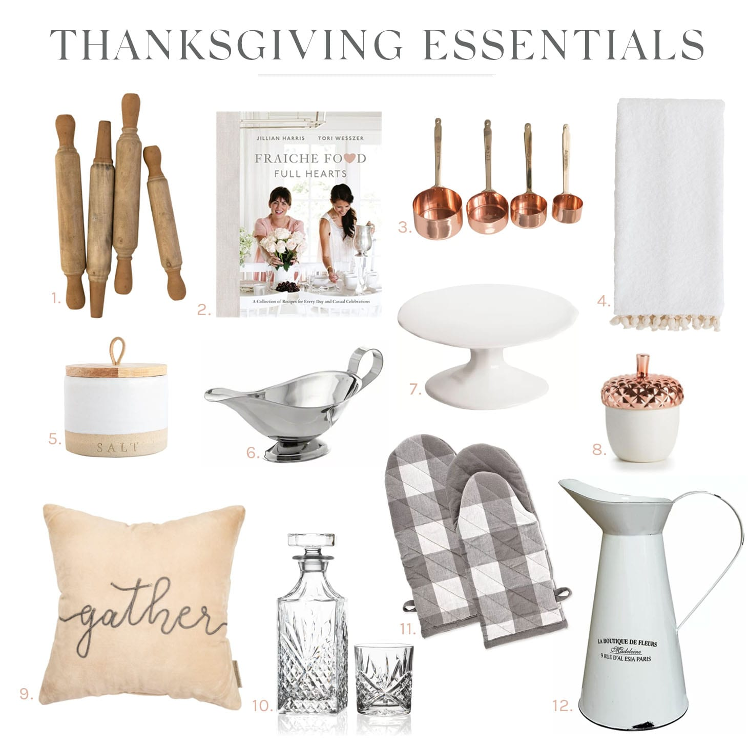 Jillian Harris Thanksgiving Essentials for Your Home
