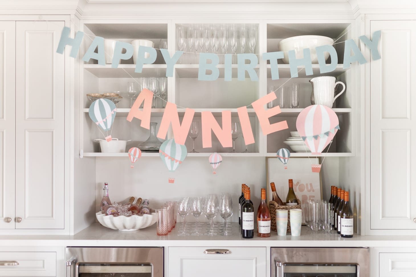 Jillian Harris Annie's First Birthday