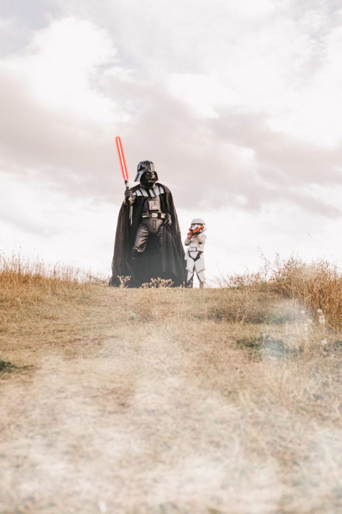 Father and son Star Wars Halloween Costumes