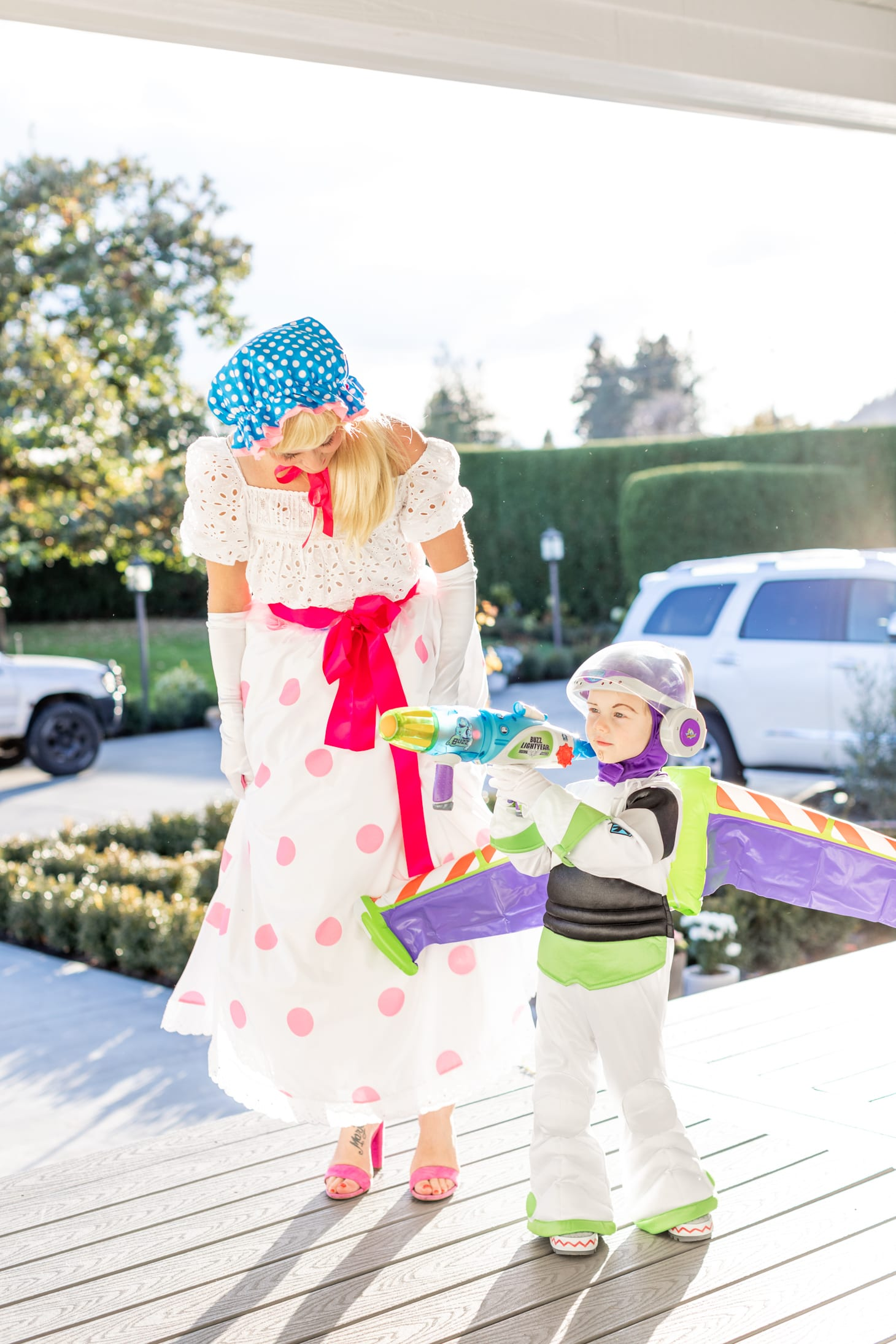 Jillian Harris Toy Story Halloween