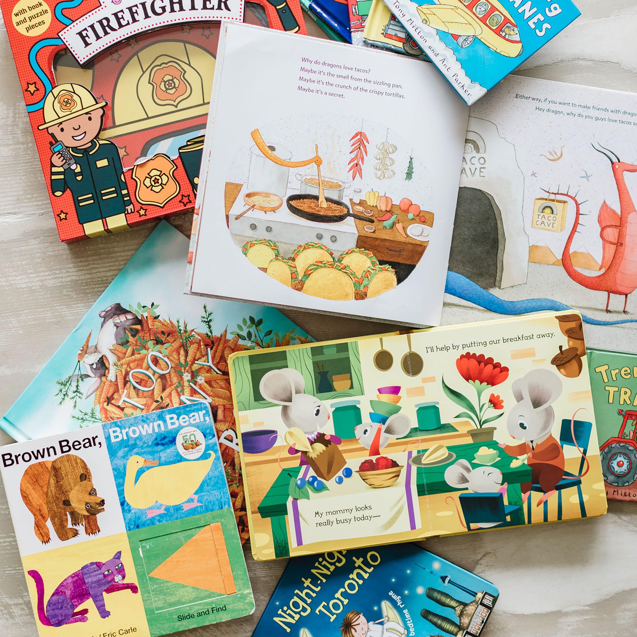 Jillian Harris Leo and Annies Favourite Books