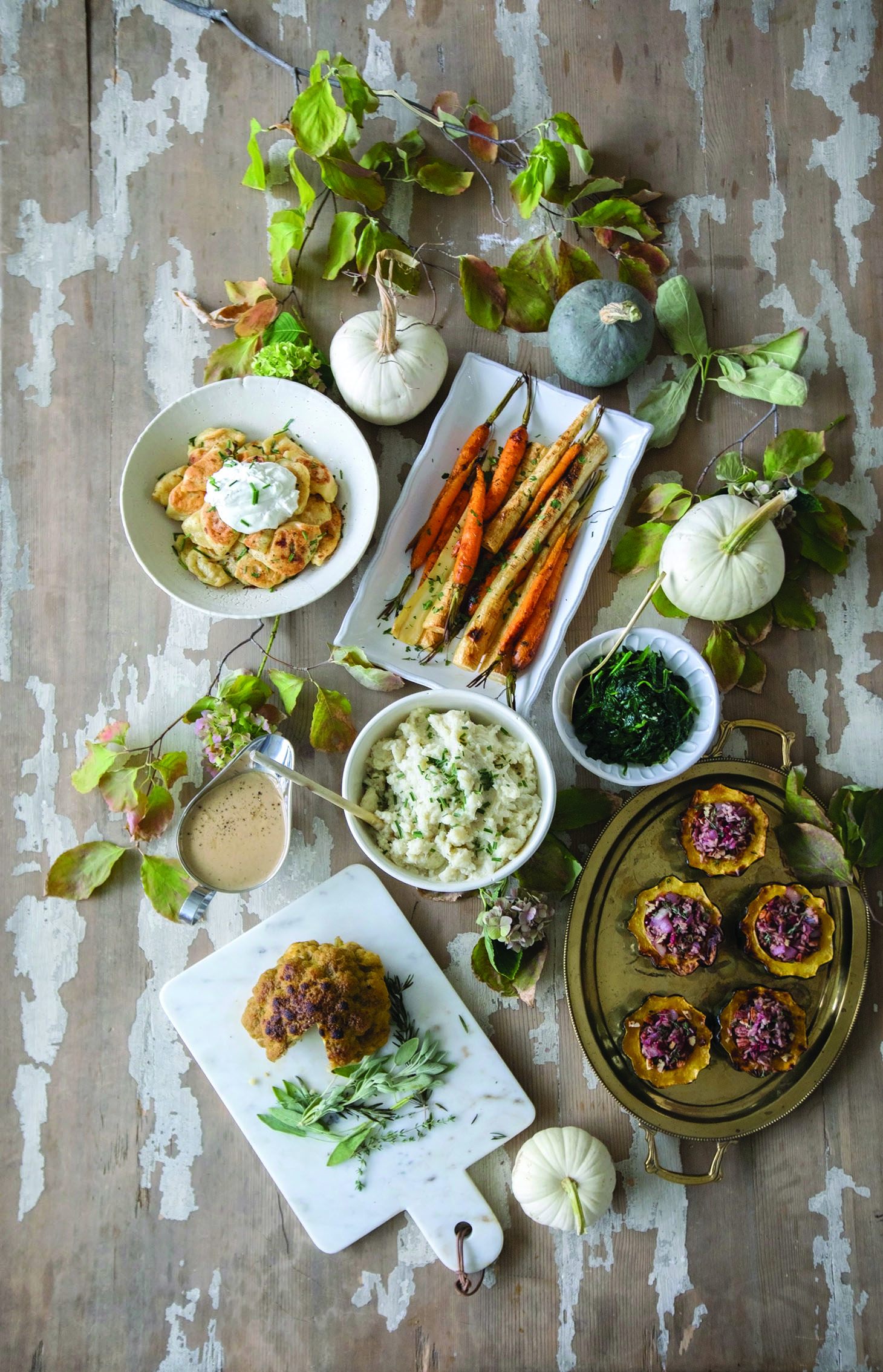 Jillian Harris Thanksgiving Menu Featuring Pecan Pumpkin Pie
