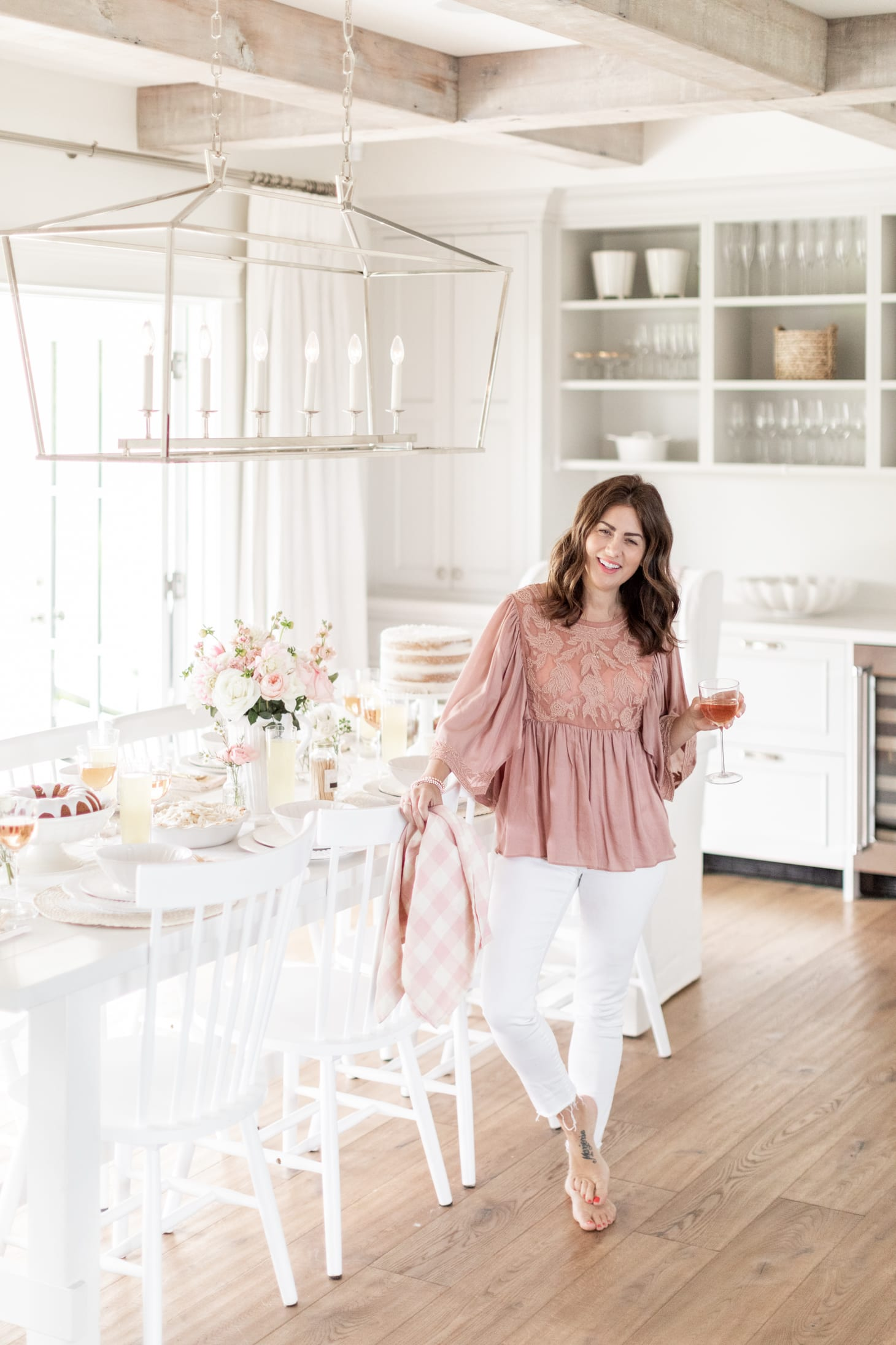 Jillian Harris Fraiche Kitchen x The Cross
