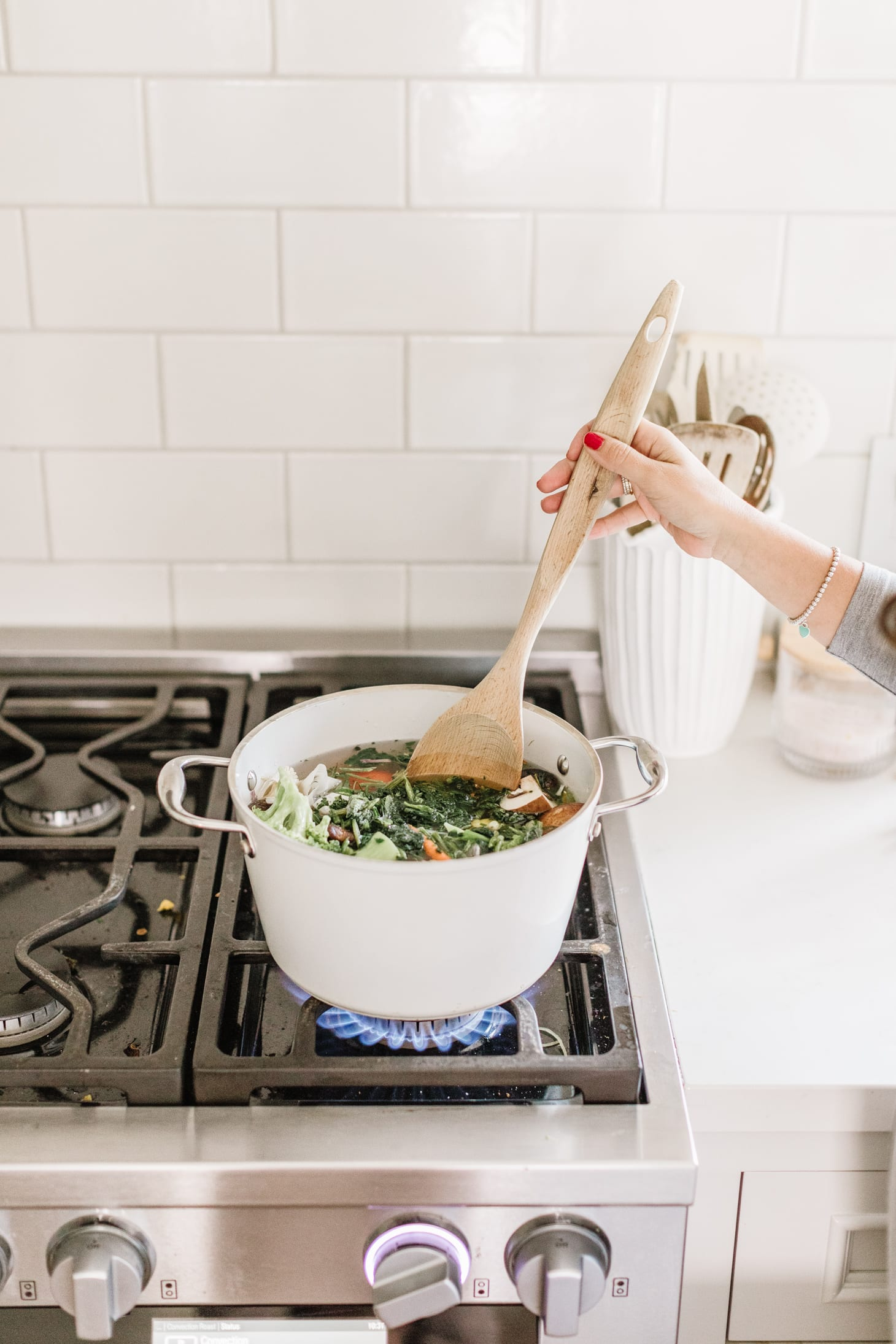 Jillian Harris Veggie Scrap Broth