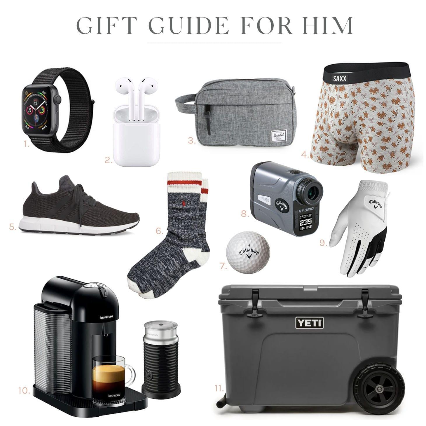 Jillian Harris Gift Guide for Him