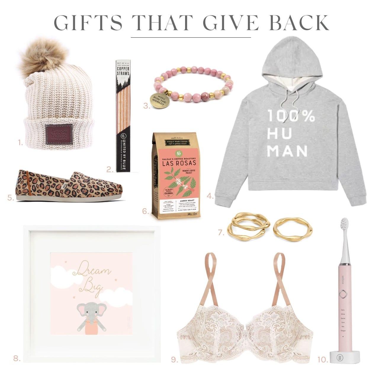 Jillian Harris Gifts that Give Back