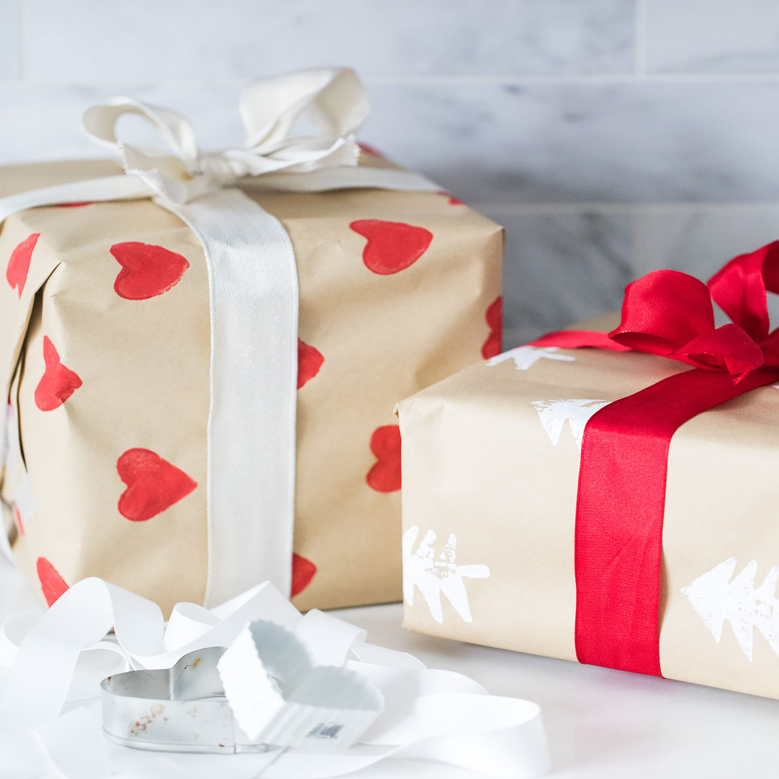 Jillian Harris Ecofriendly wrapping