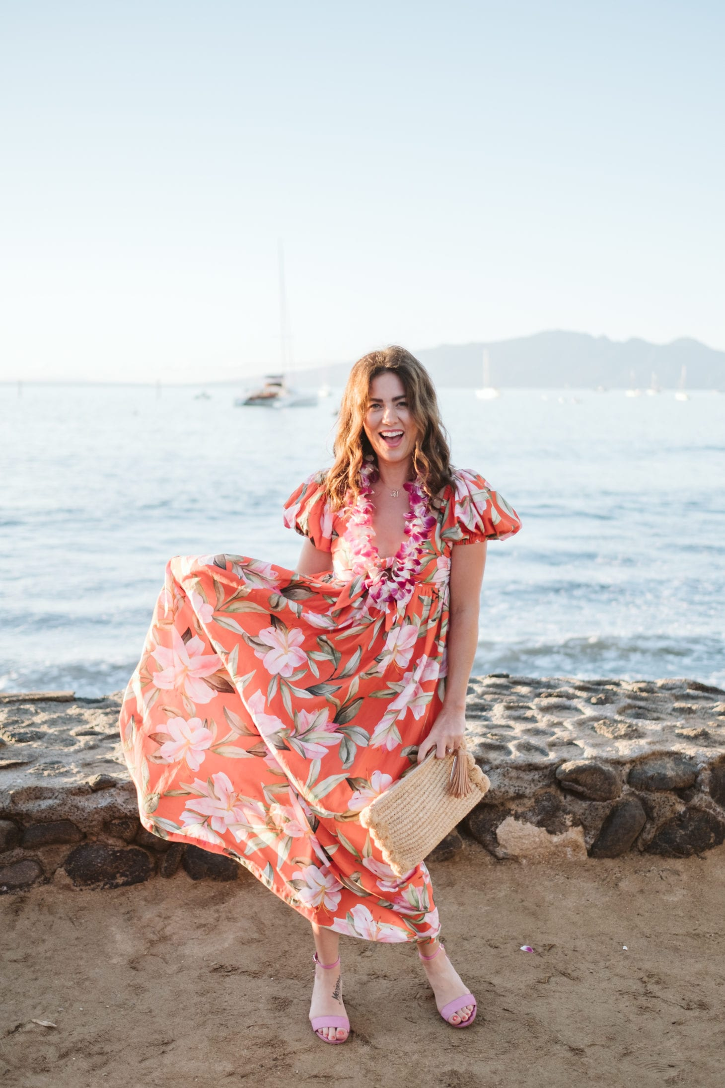 Anthropologie Mara Hoffman Tropical Dress