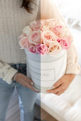 Looking Through Rosé Coloured Glasses: New Prints + Our Rose Love Preset is Here!