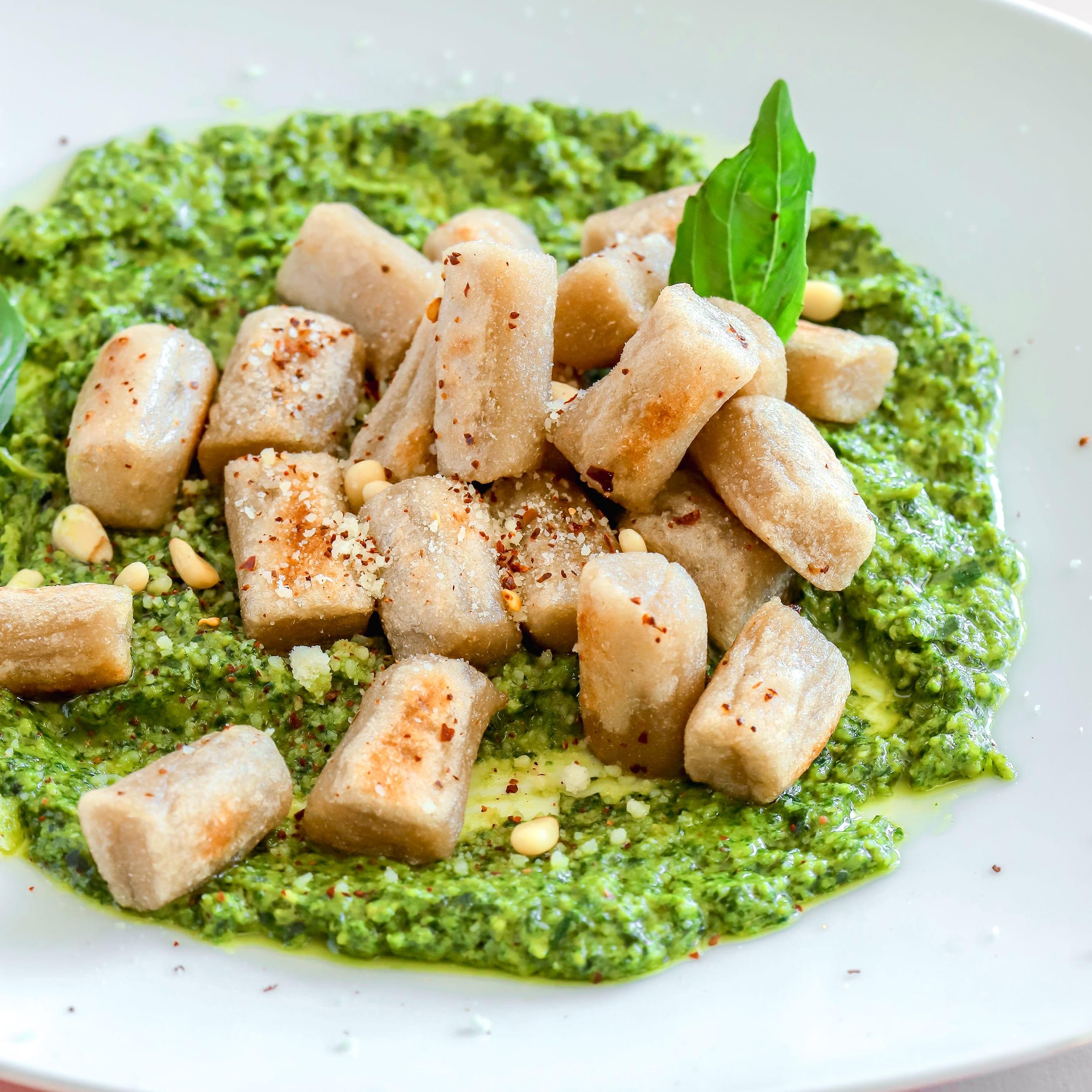 2 Ingredient Cauliflower Gnocchi