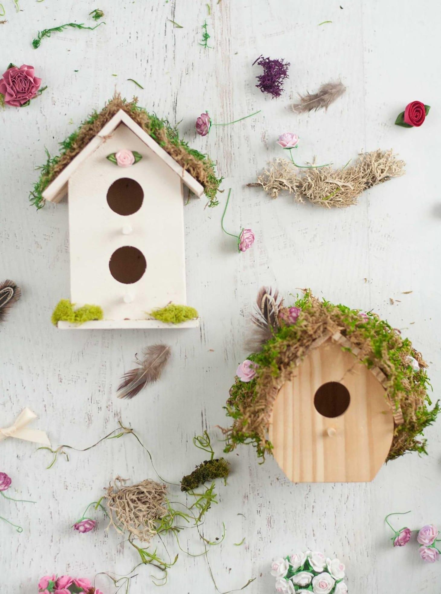 DIY Fairy Houses