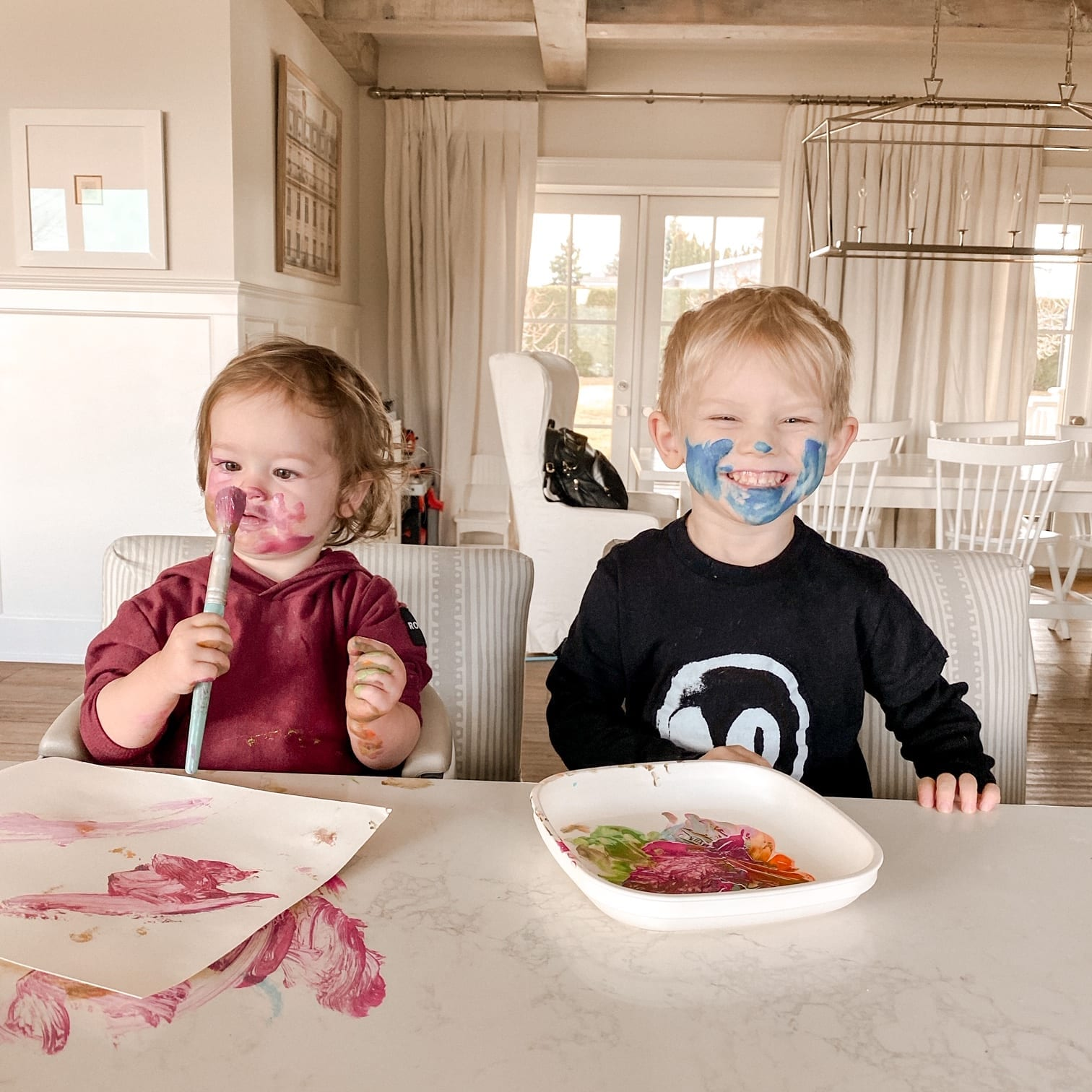 Kids Painting Face