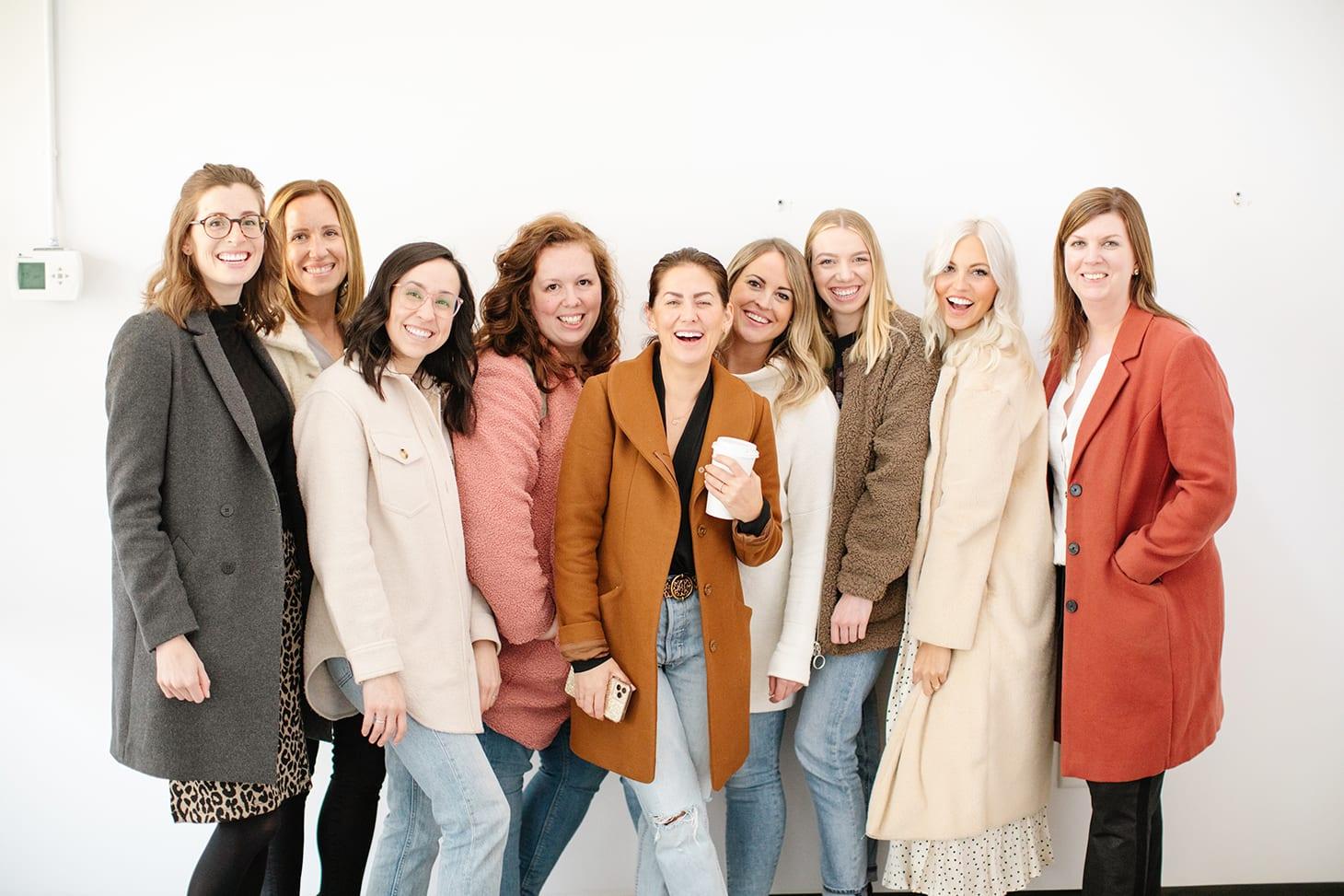 Jillian Harris and Team Jilly Group Photo