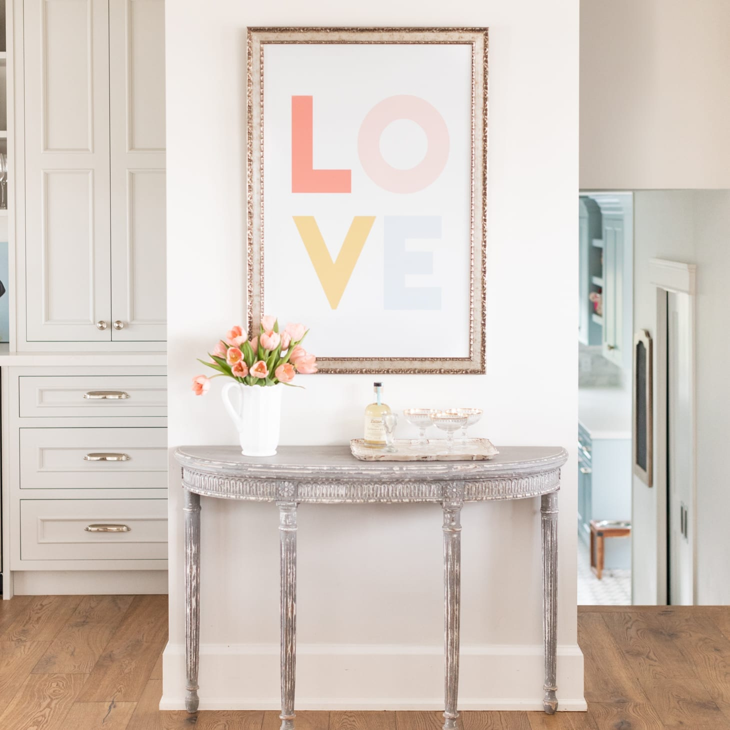 Love Print by Jillian Harris
