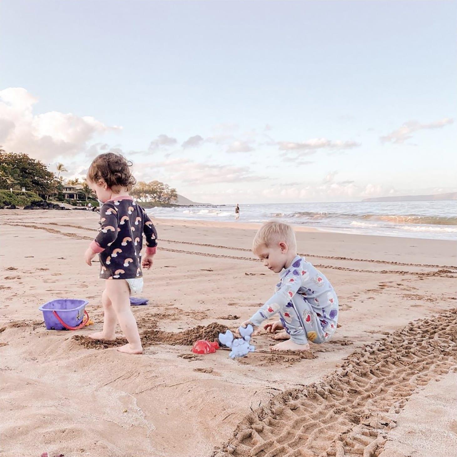 Making Sandcastles in Maui
