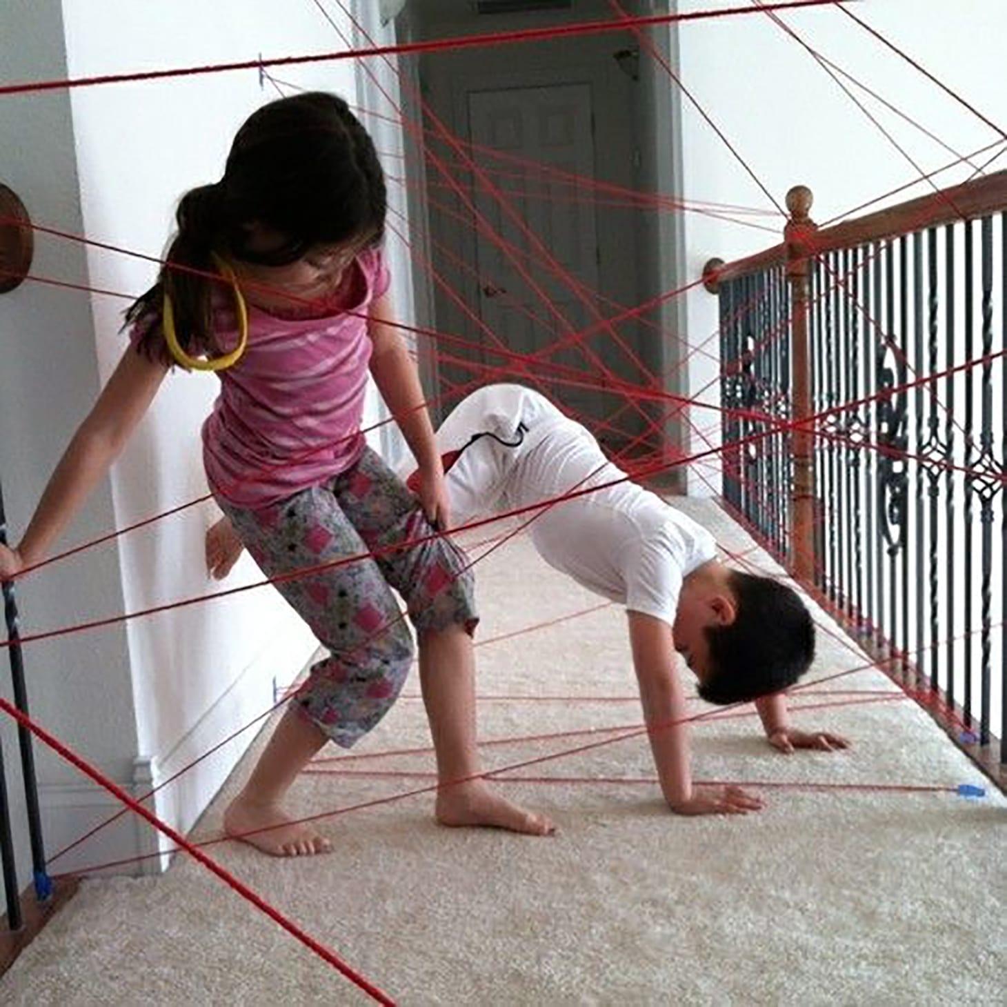 Obstacle Course Indoor DIY Kids