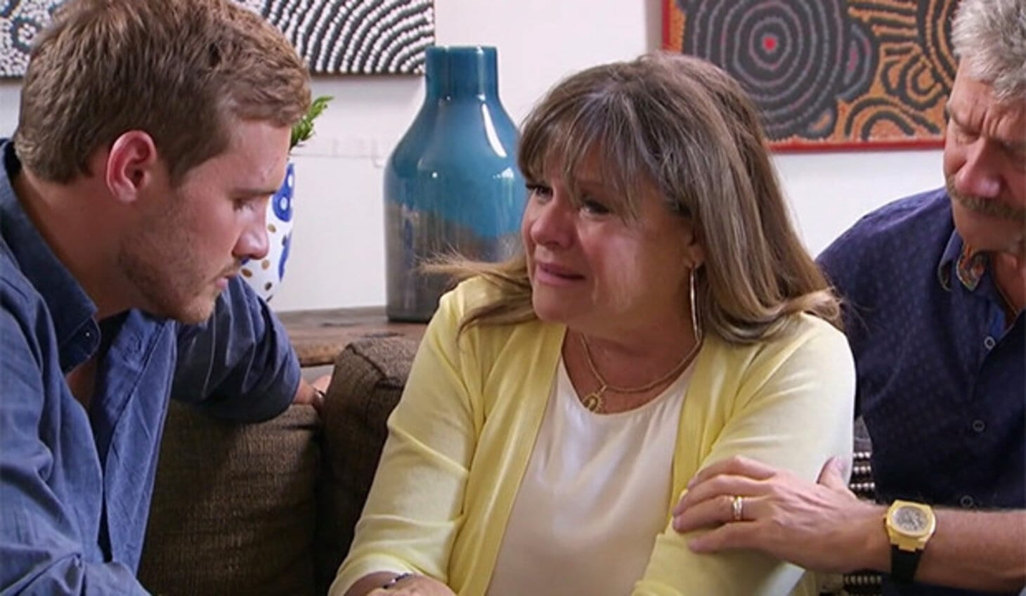 Peter's Mom Crying